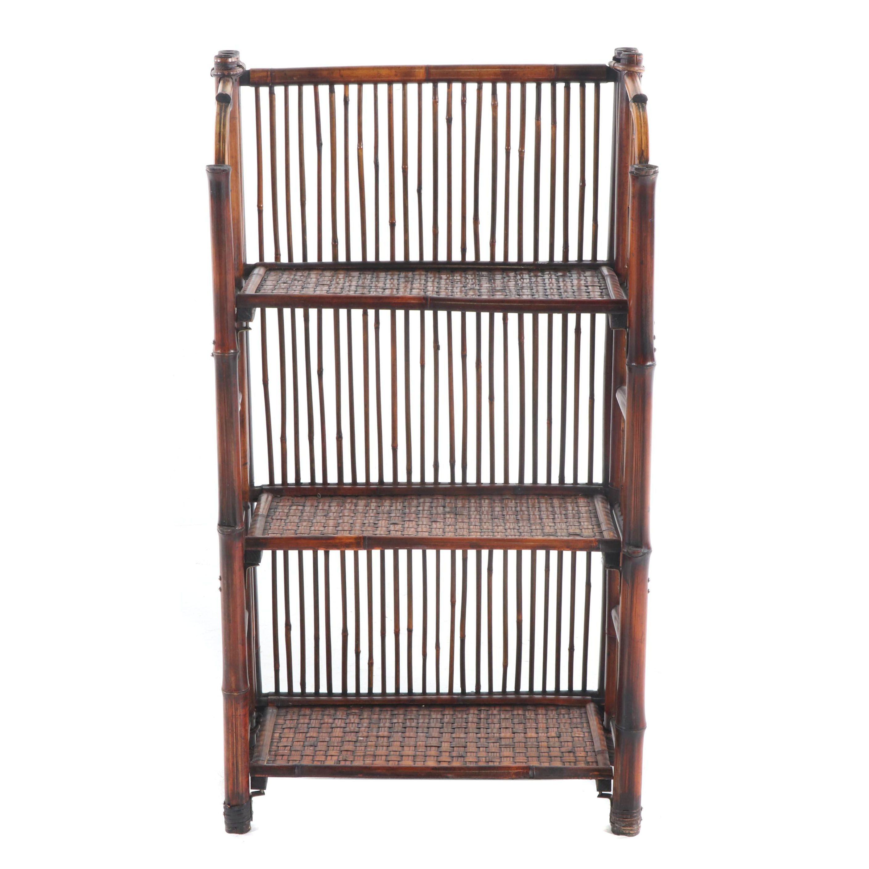 Bamboo Folding Shelf/Rack