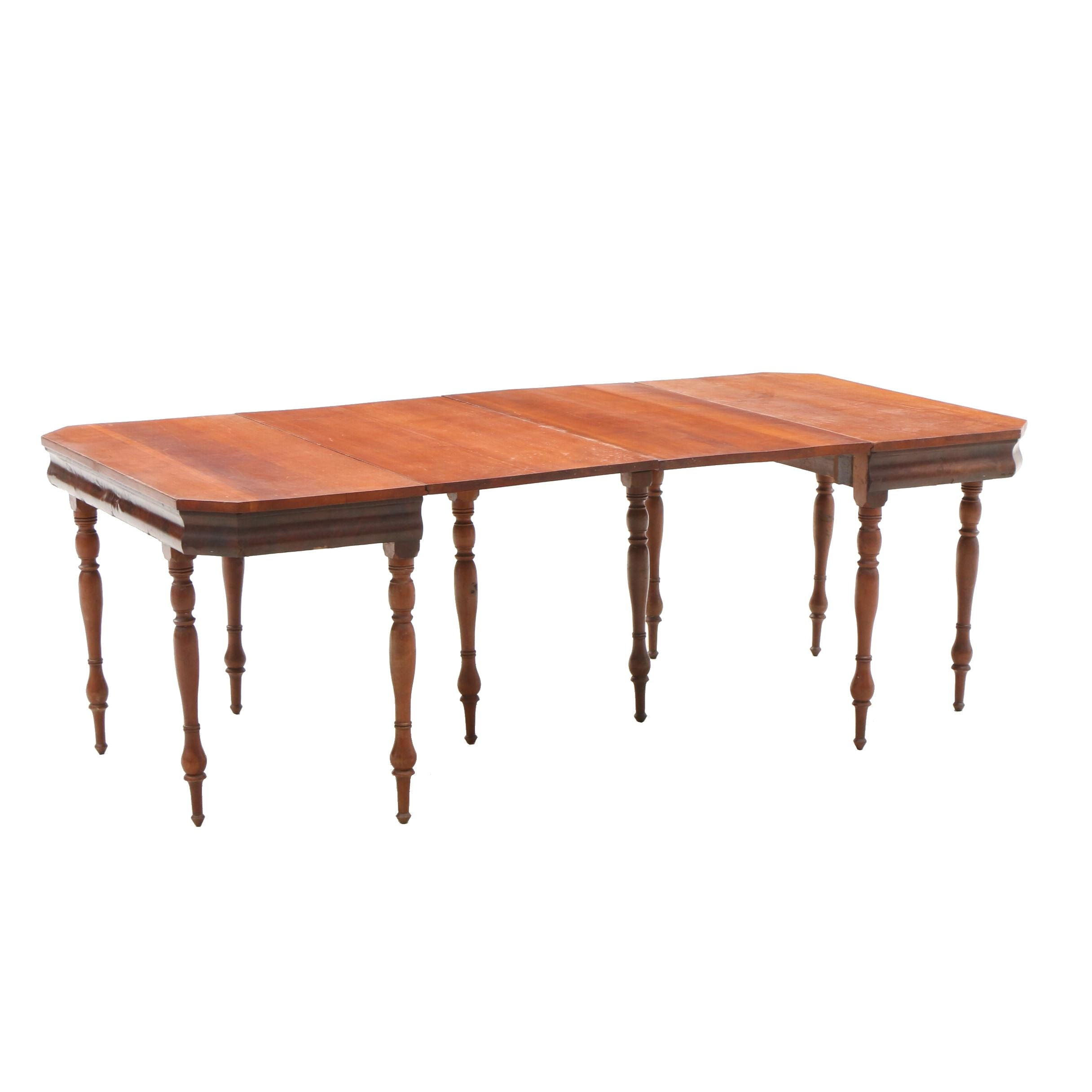 Empire Drop Leaf Banquet Tables in Cherry