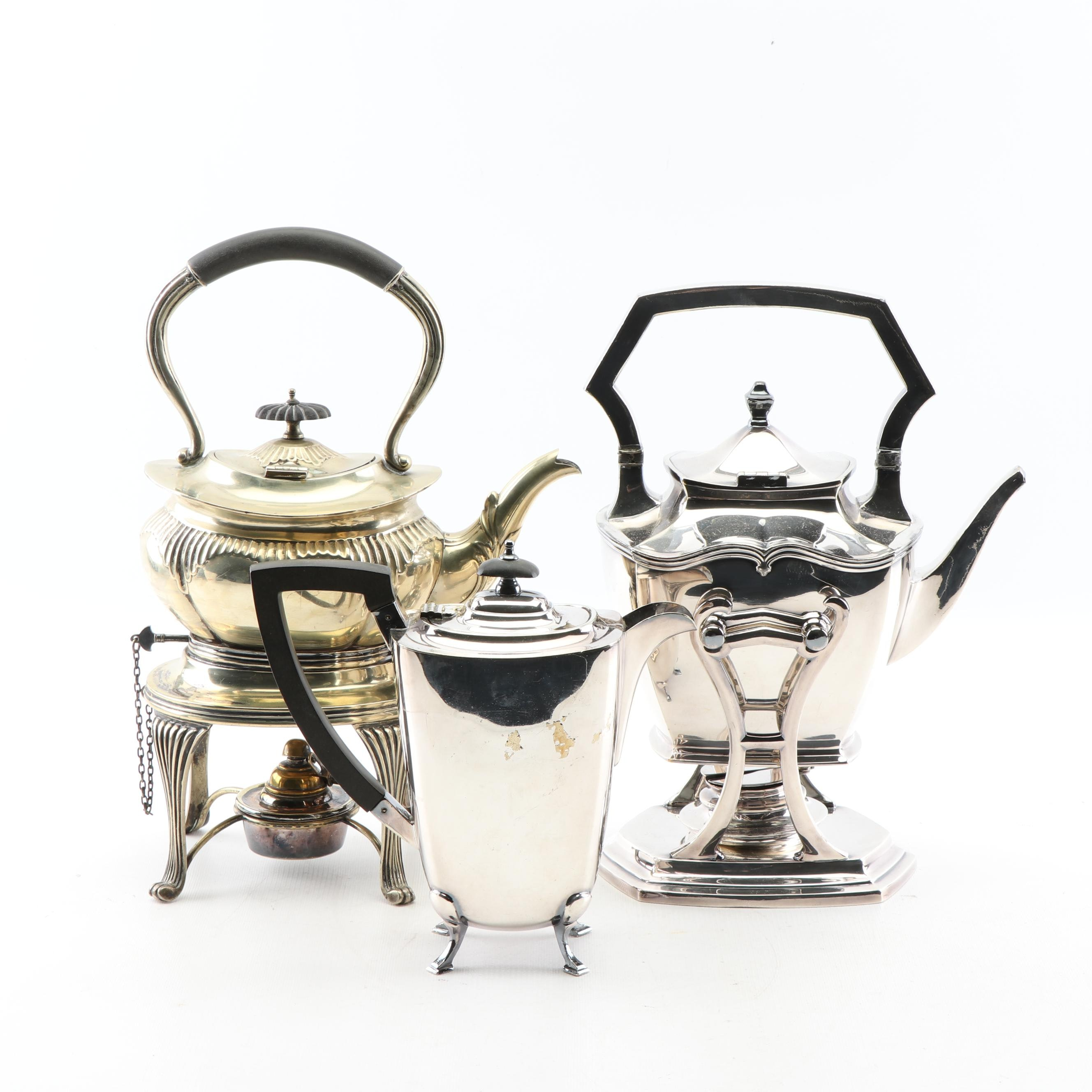 Silver Plated Teapots