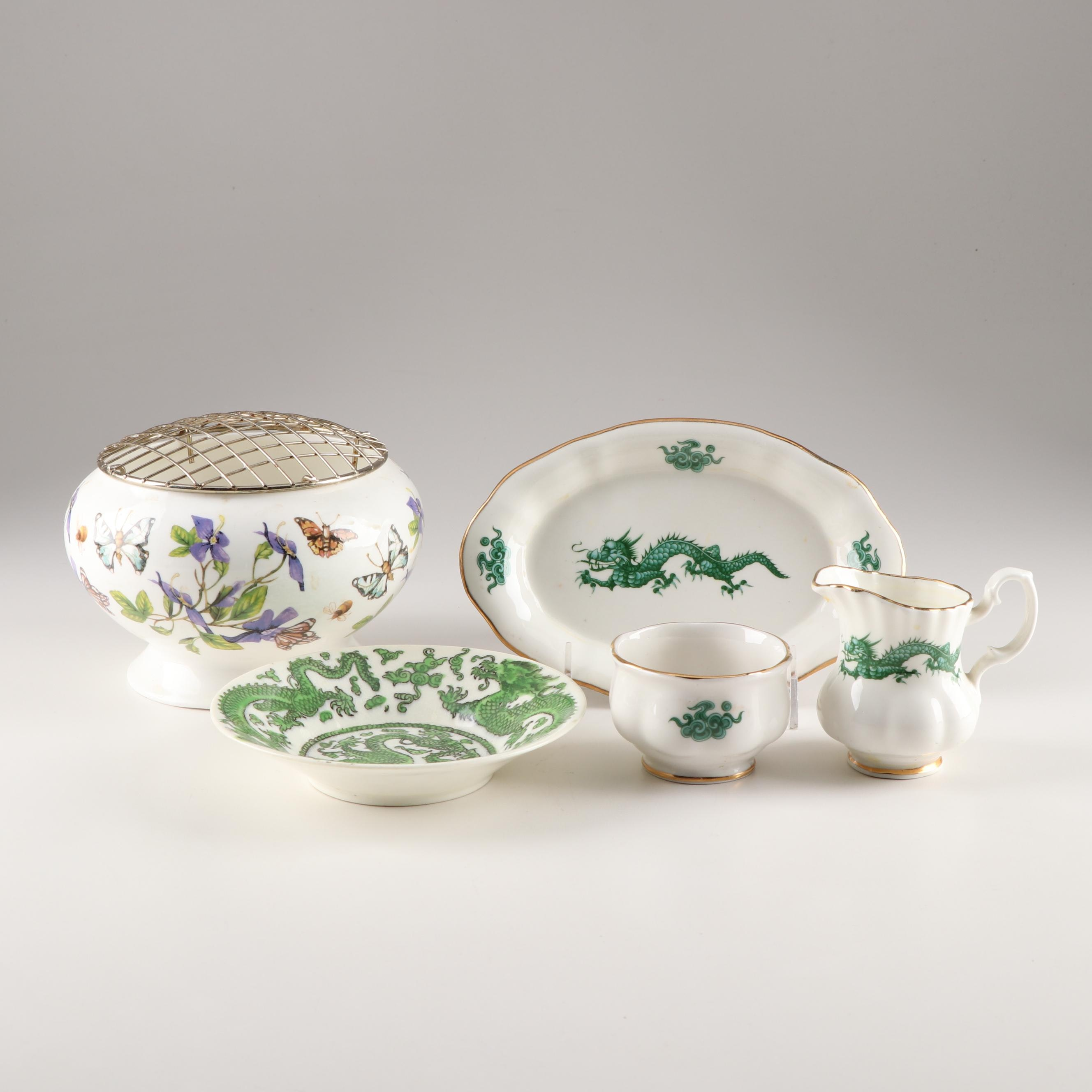 Coalport Mixed Pattern Bone China Tableware