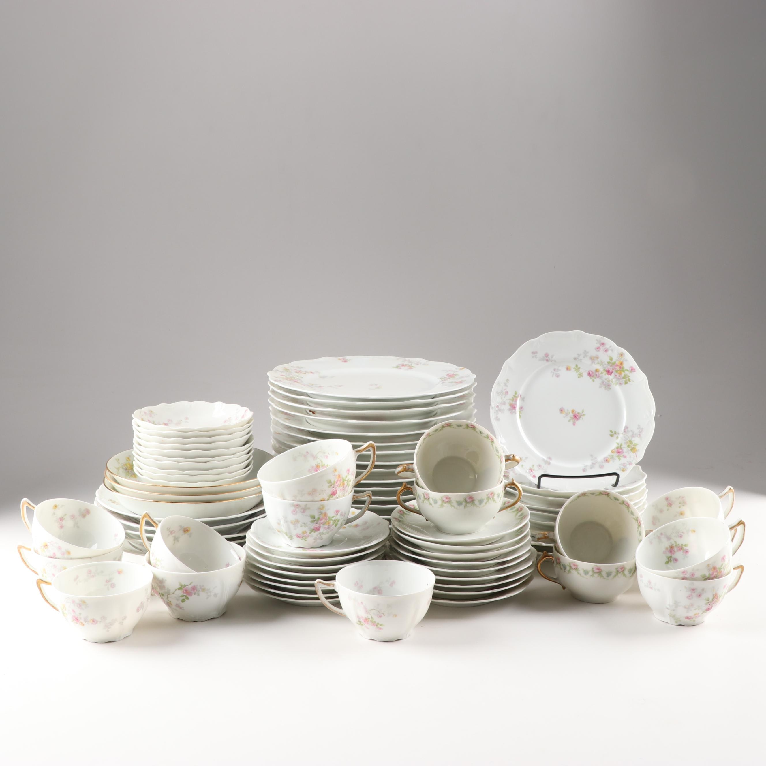 Assorted Haviland Porcelain Dinnerware