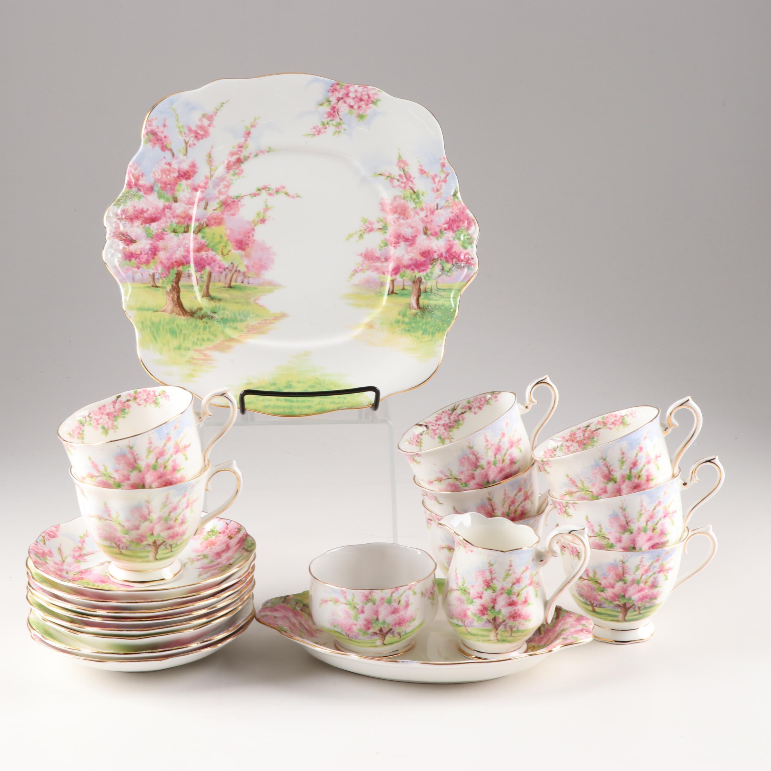 "Royal Albert ""Blossom Time"" Bone China Tableware"