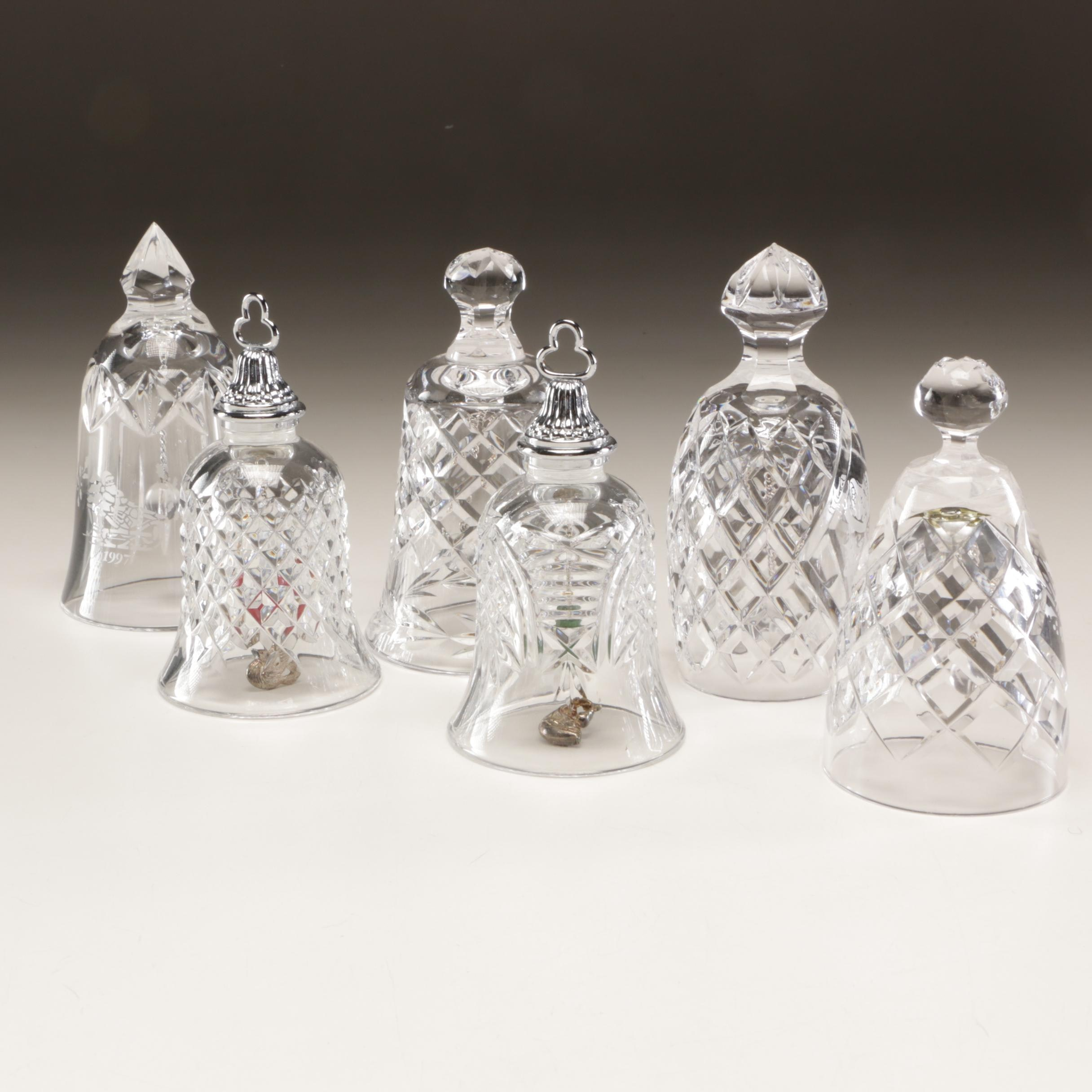 Assorted Waterford Crystal Decorative and Seasonal Bells