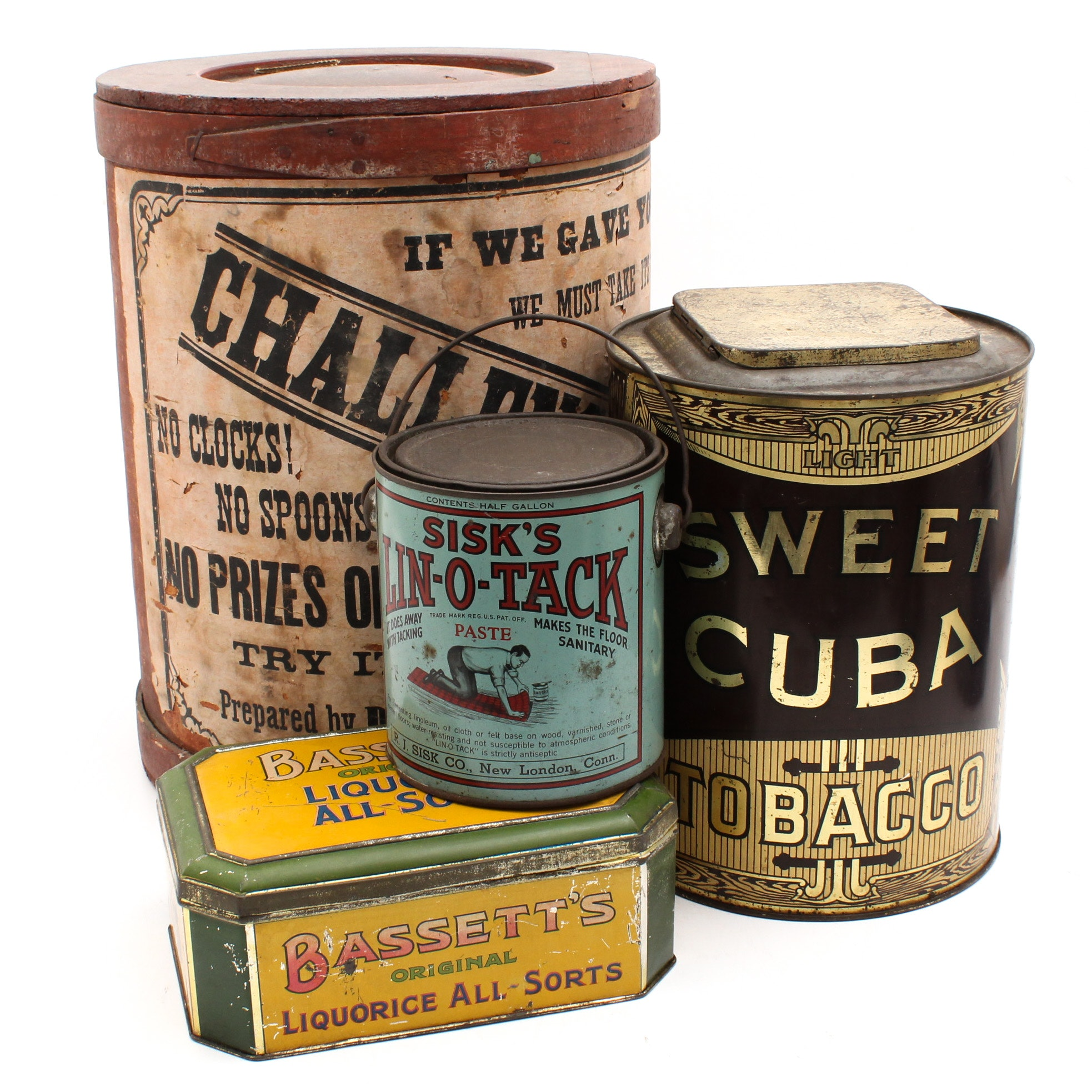 Vintage Advertising Product Packaging