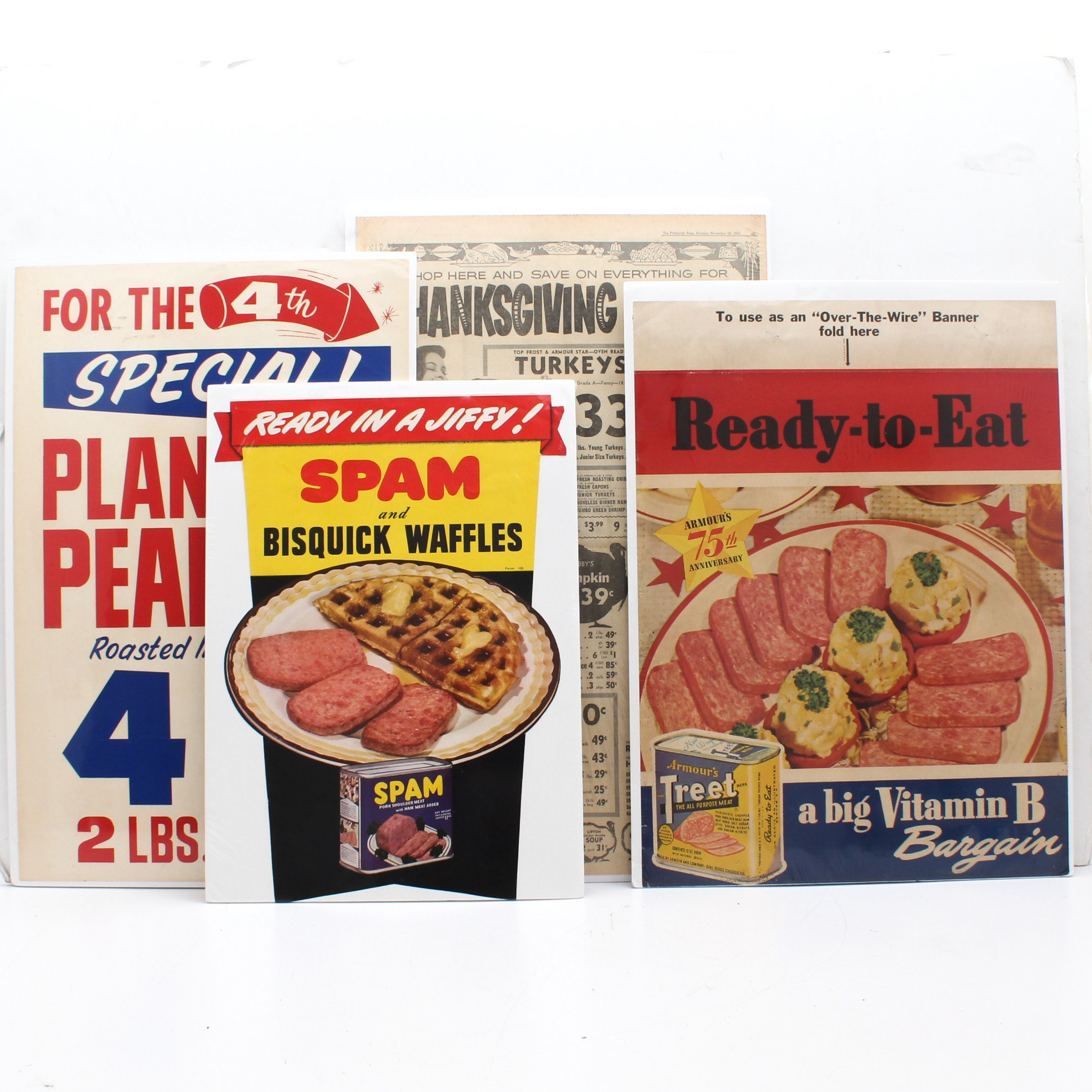 Vintage Grocery Posters and Advertisements