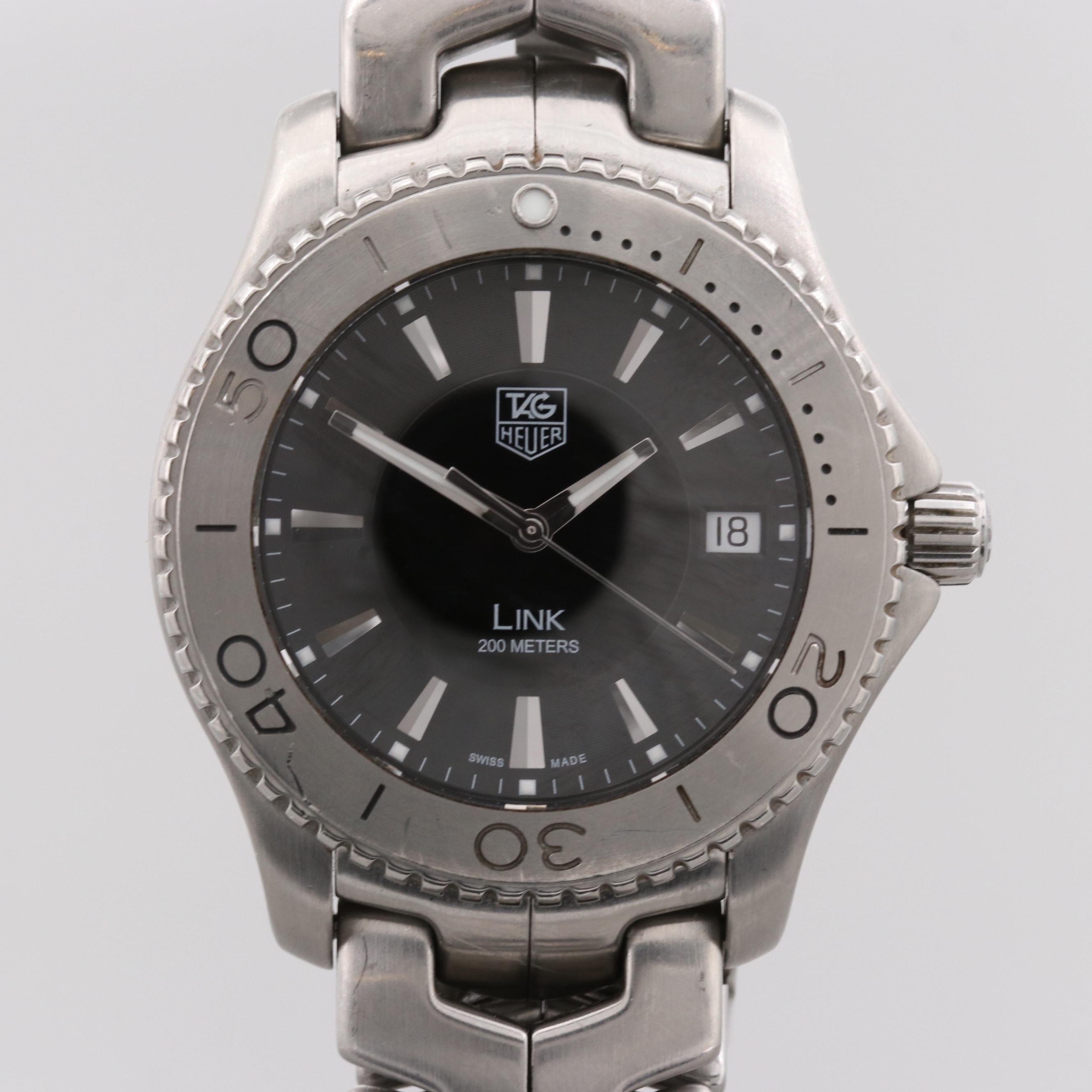 TAG Heuer Link Stainless Steel Quartz Wristwatch