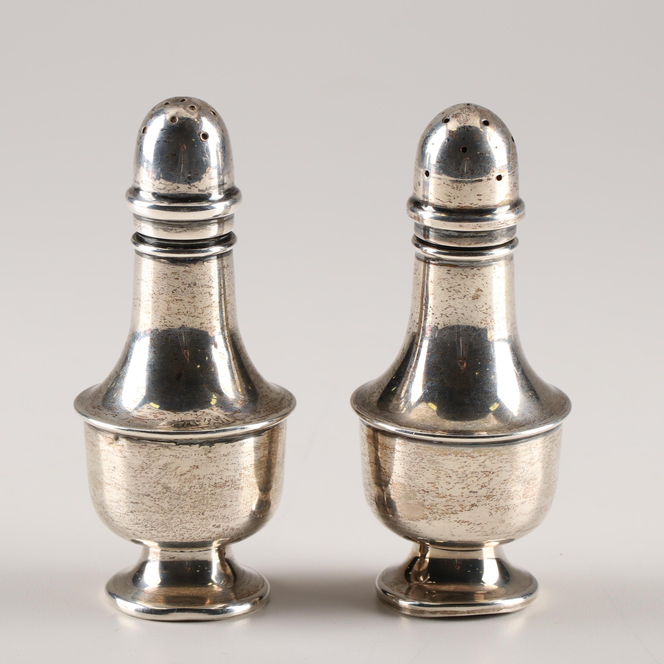 Sterling Silver Salt and Pepper Set