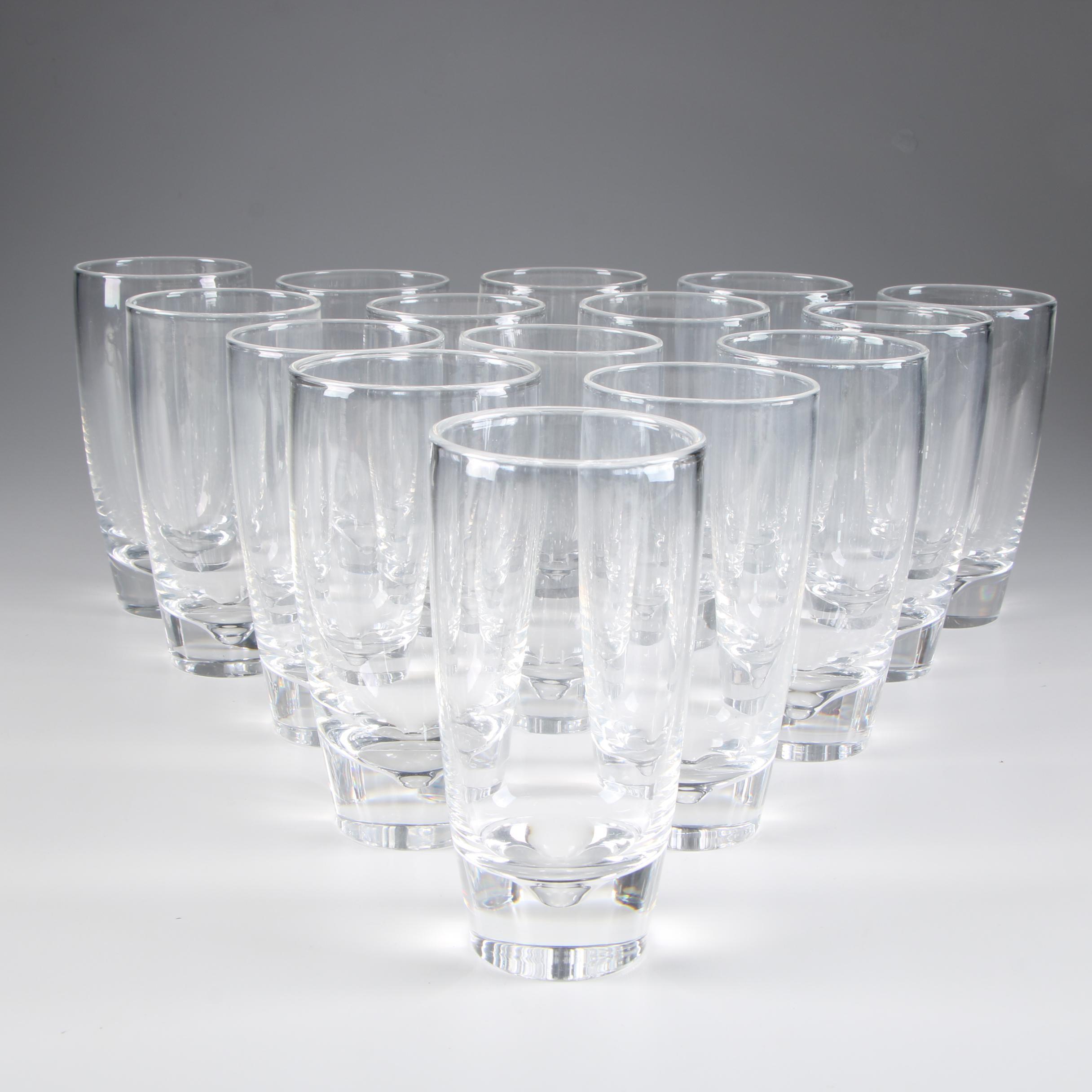 Steuben Art Glass Flat Tumblers, Mid-Century