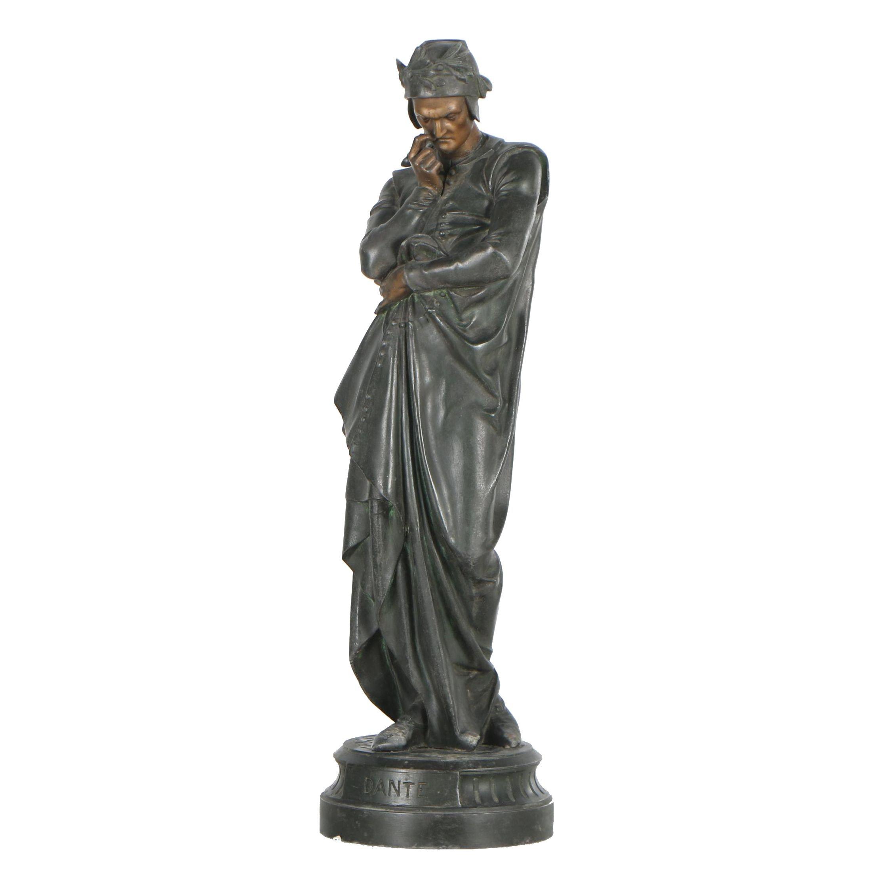"Metal Figural Sculpture""Dante"""