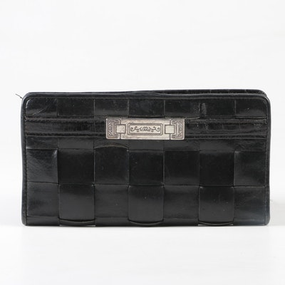 393484c5d9ac Brighton Woven and Embossed Leather Wallet