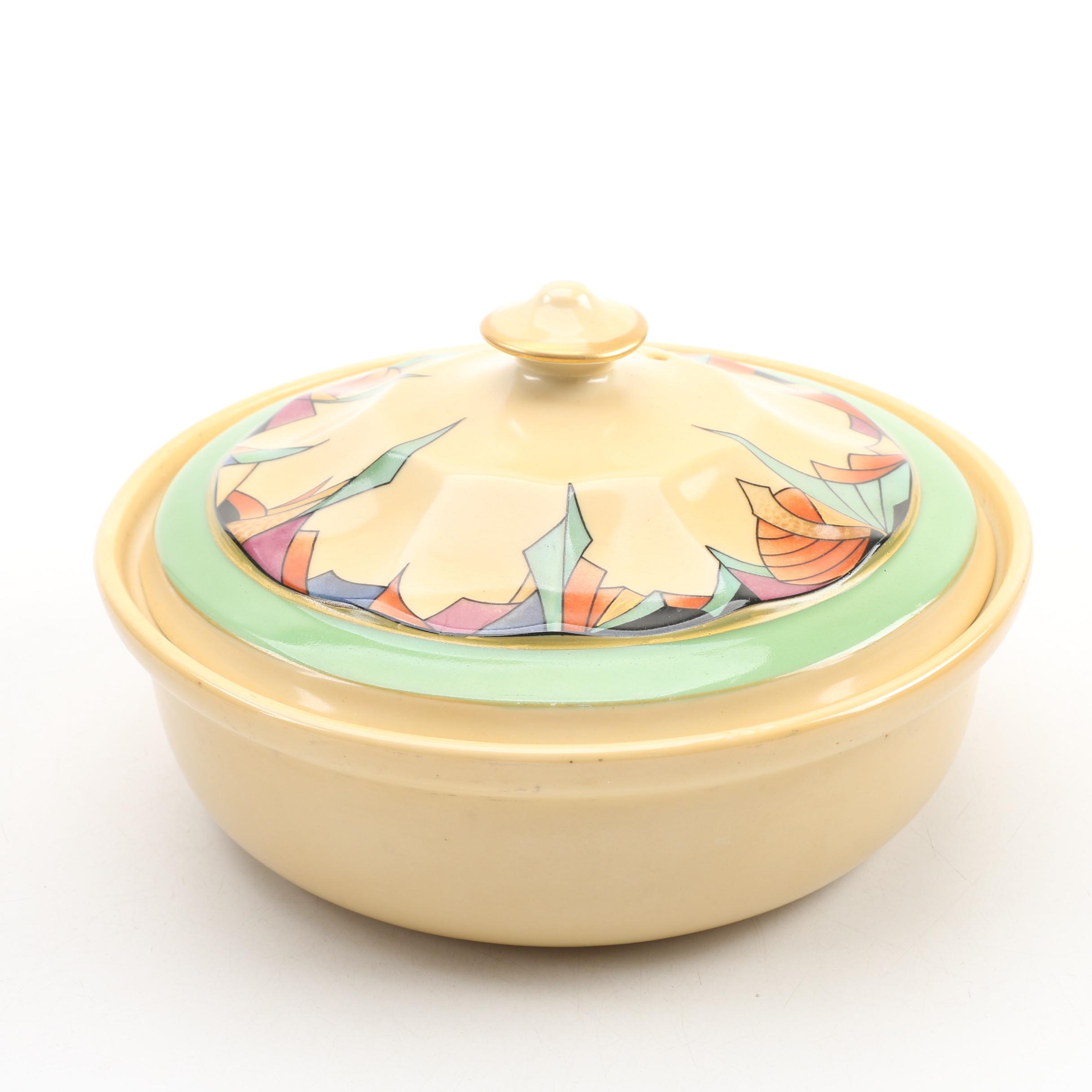 Fraunfelter Royal Rochester Covered Casserole Dish, Mid-Century