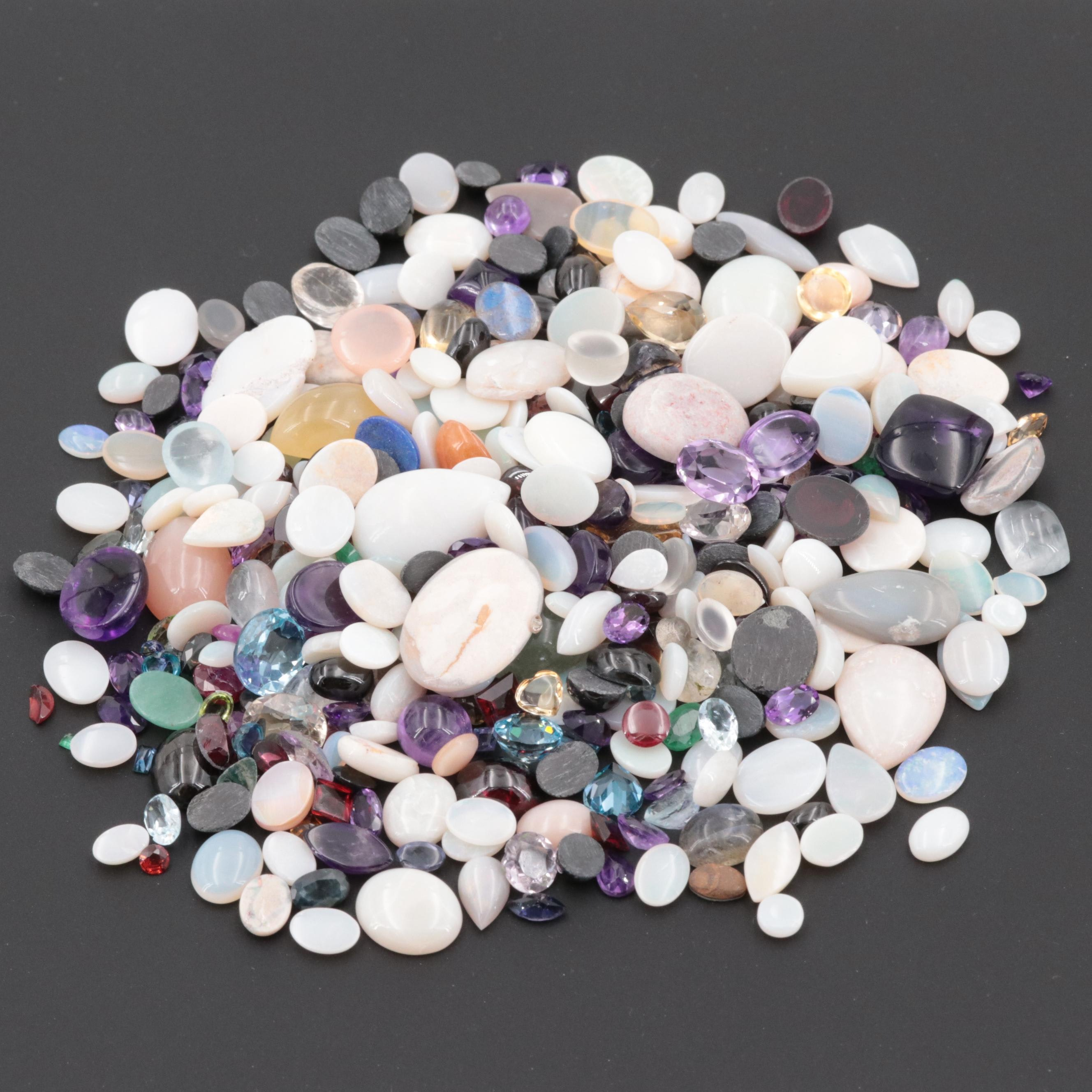 Loose 345.71 Mixed Lot Gemstones