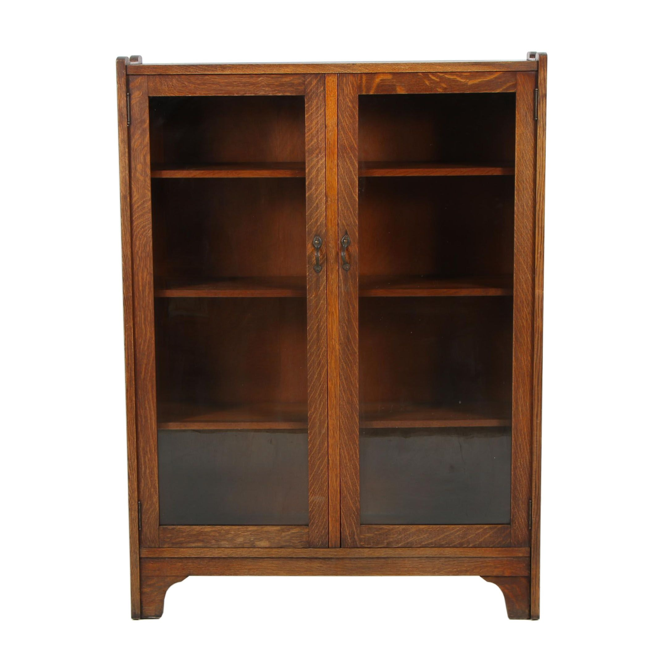 Stickley Bros Co. Display Cabinet with Glass Doors