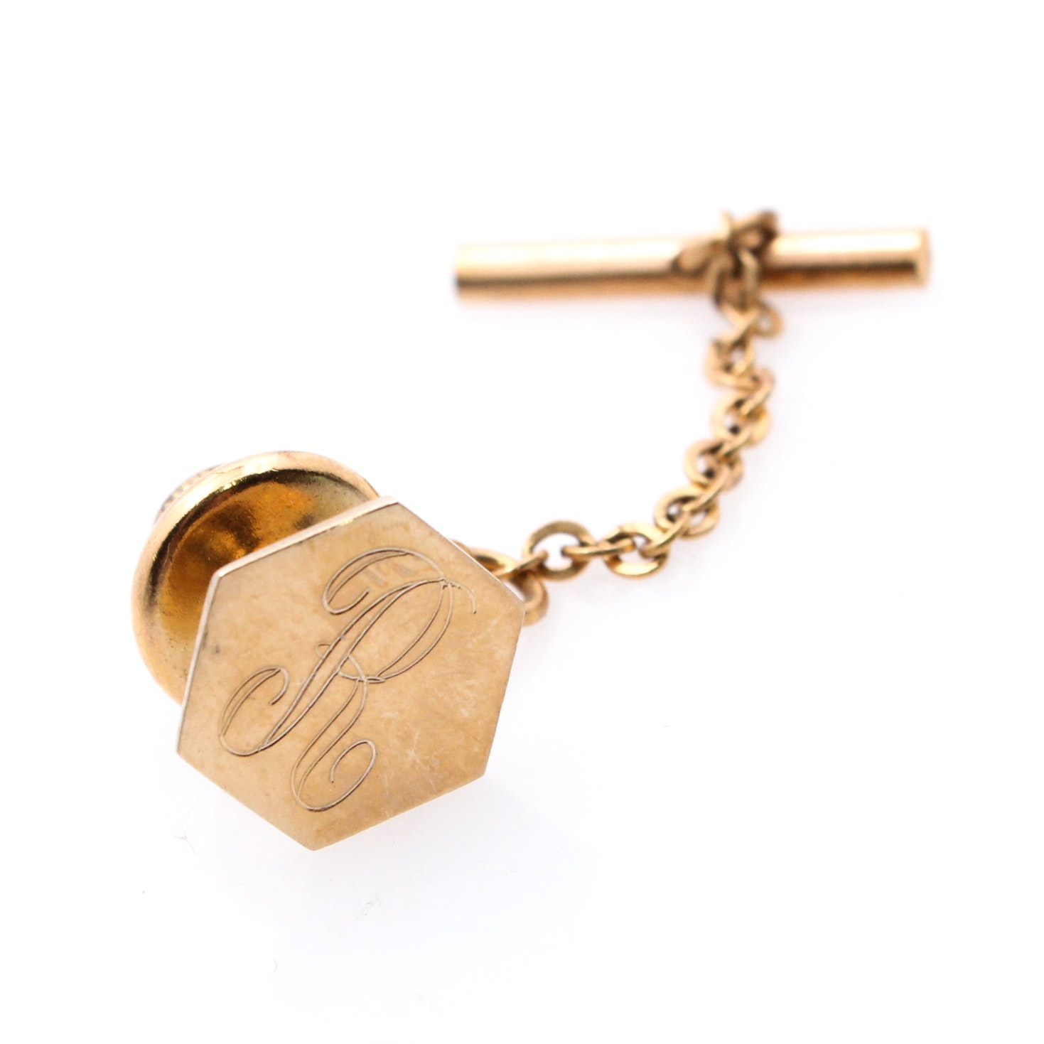 10K Yellow Gold Tie Tack