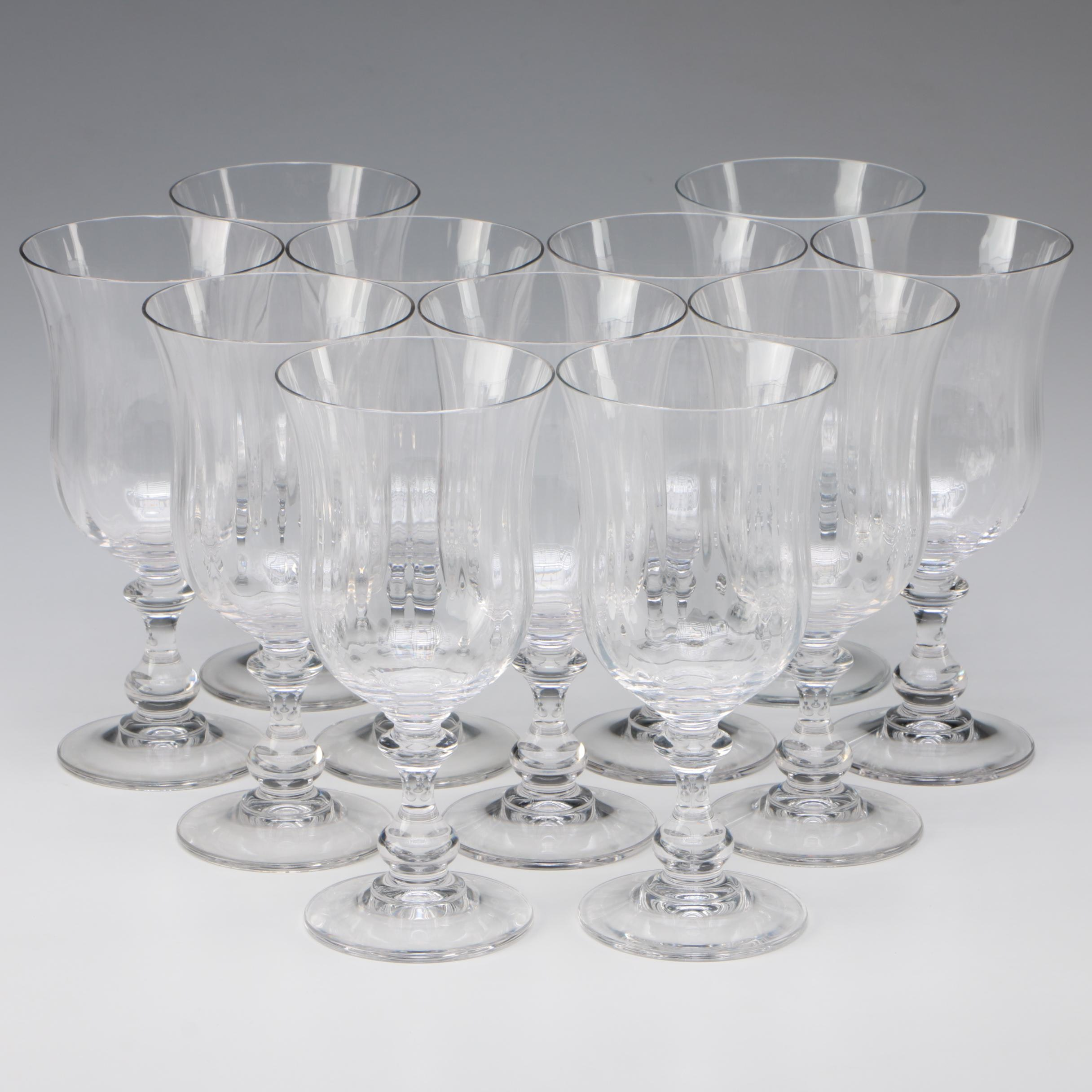 """Mikasa """"French Countryside"""" Iced Tea Goblets"""