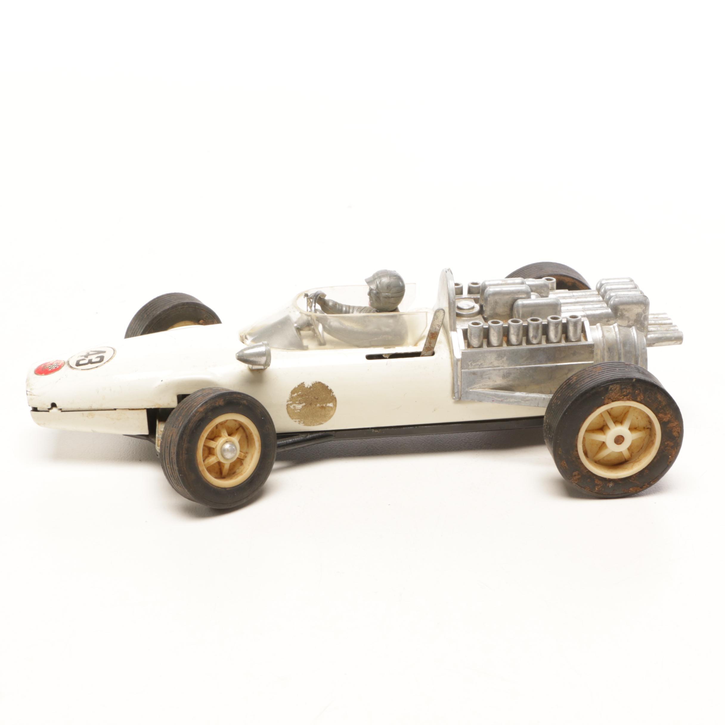 1970s Bandai Formula One Toy Racing Car