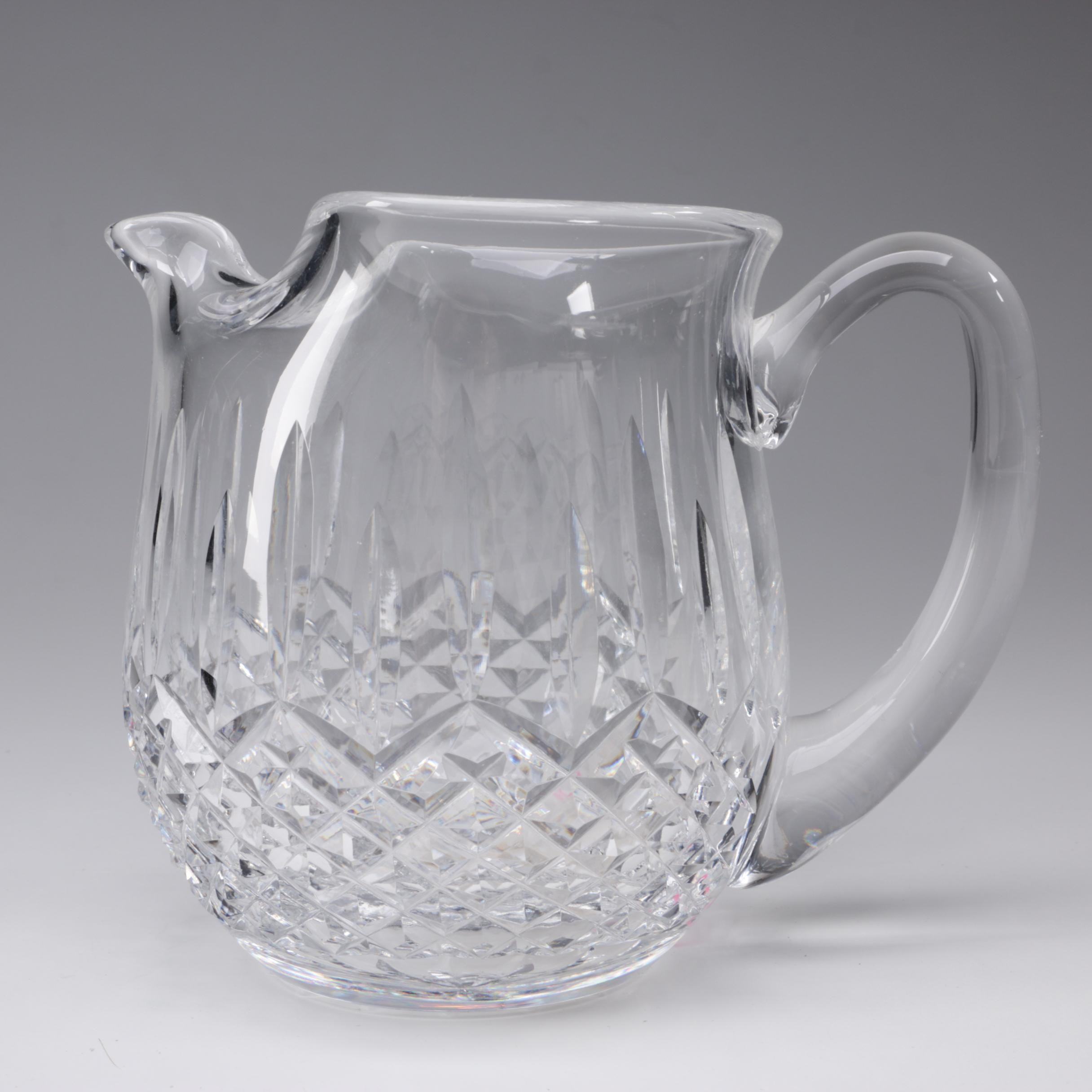 "Waterford Crystal ""Lismore"" 32 Ounce Jug"