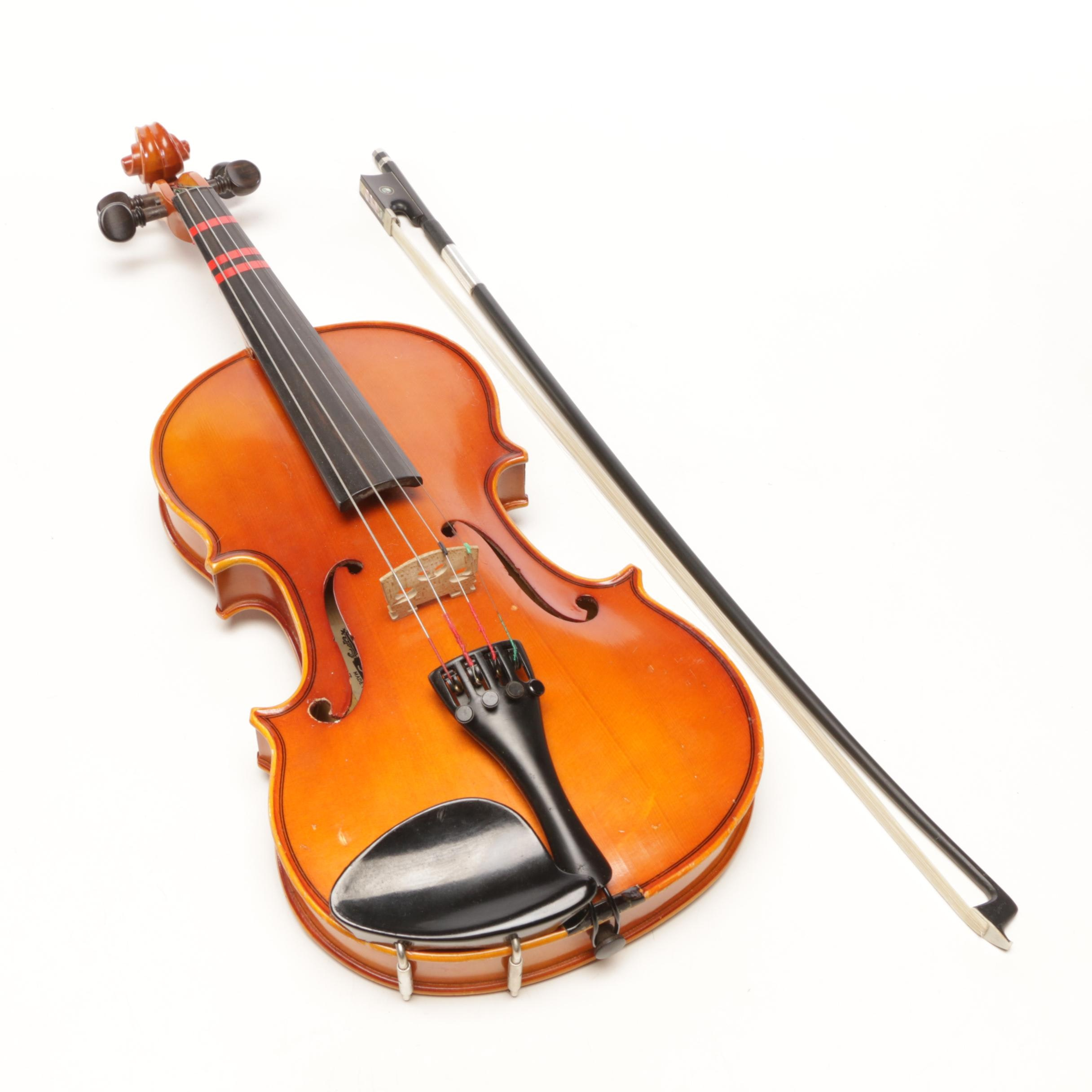 1/2 Size Knilling Summit Student Violin and Carboni Bow