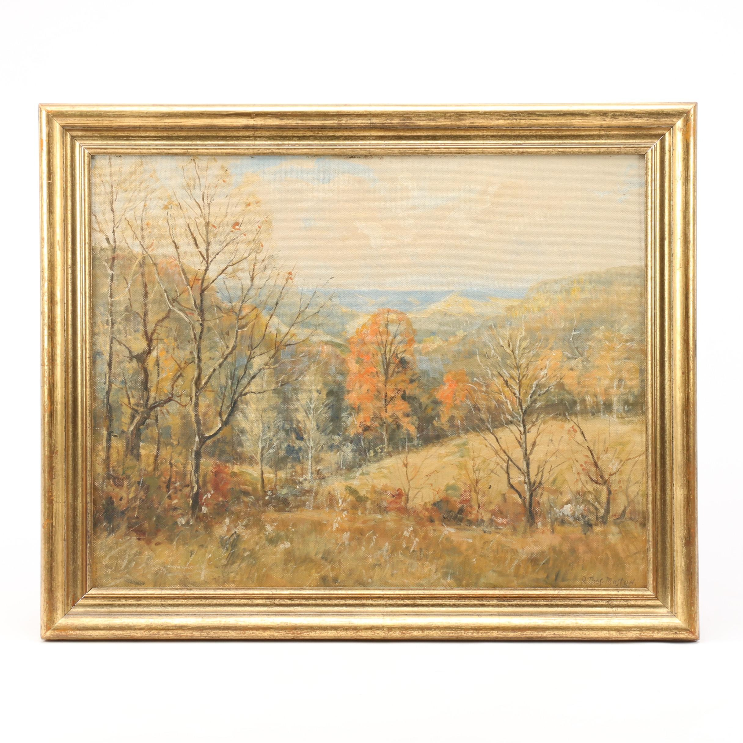 Raymond Thomas Maston Landscape Oil Painting
