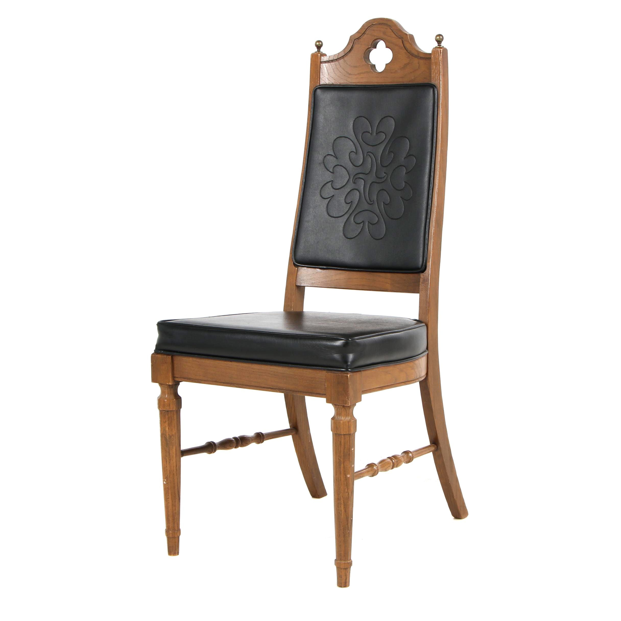 Fruitwood Holman Manufacturing Co. Side Chair, Mid 20th Century