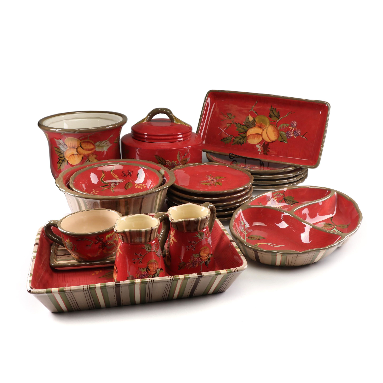"Tracy Porter ""The Octavia Hill Collection"" Ceramic Dinnerware"