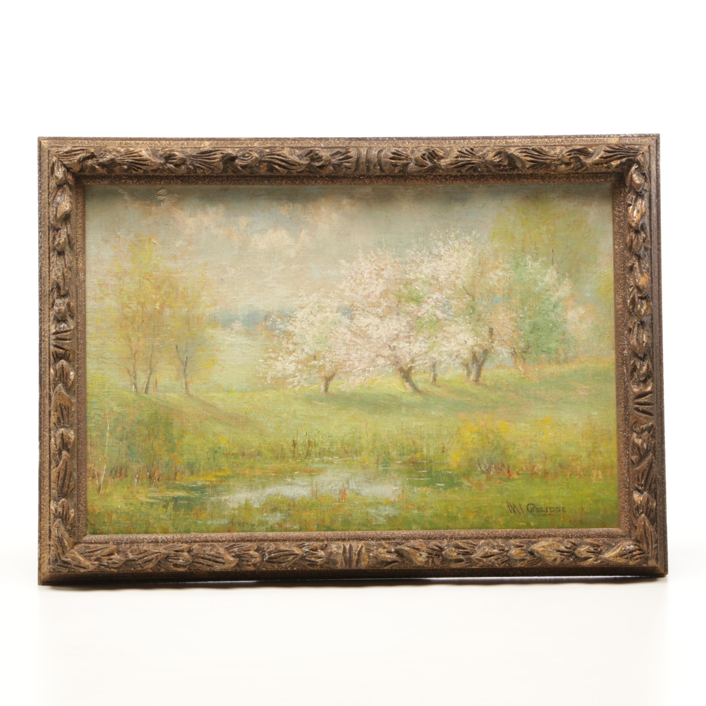Mabel Coolidge Impressionist Landscape Painting