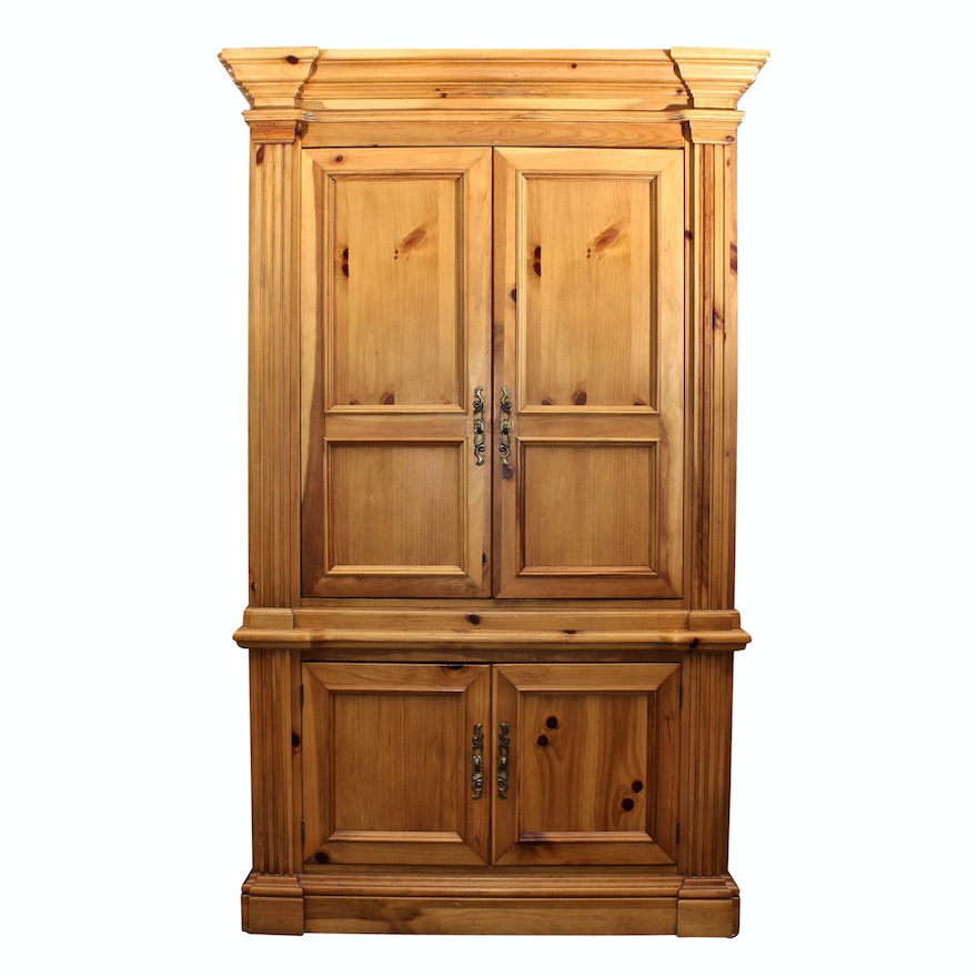 Hooker Furniture Pine Media Cabinet