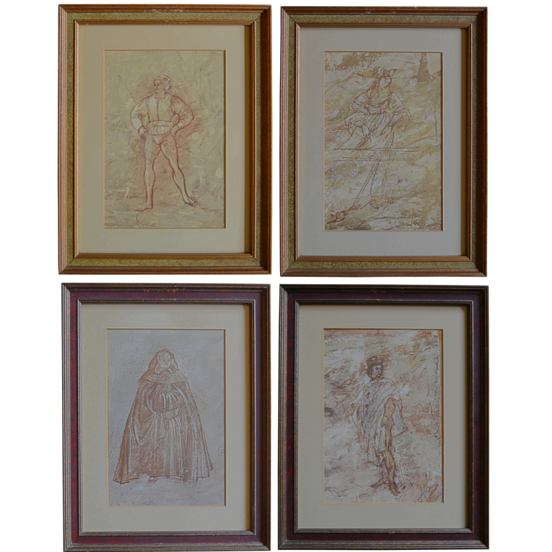 Vintage Lithographs