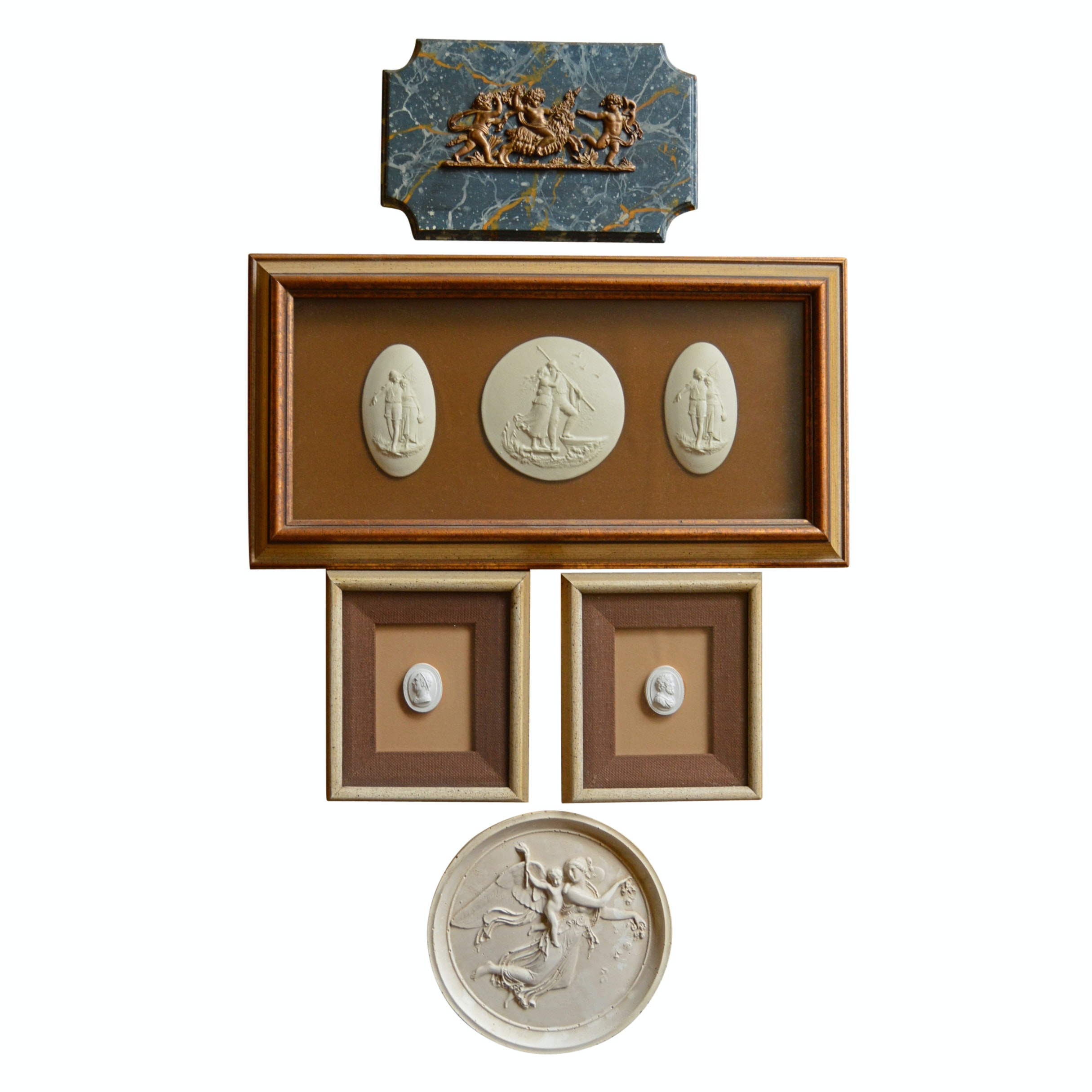 Classical Plaster Medallions and Plaques