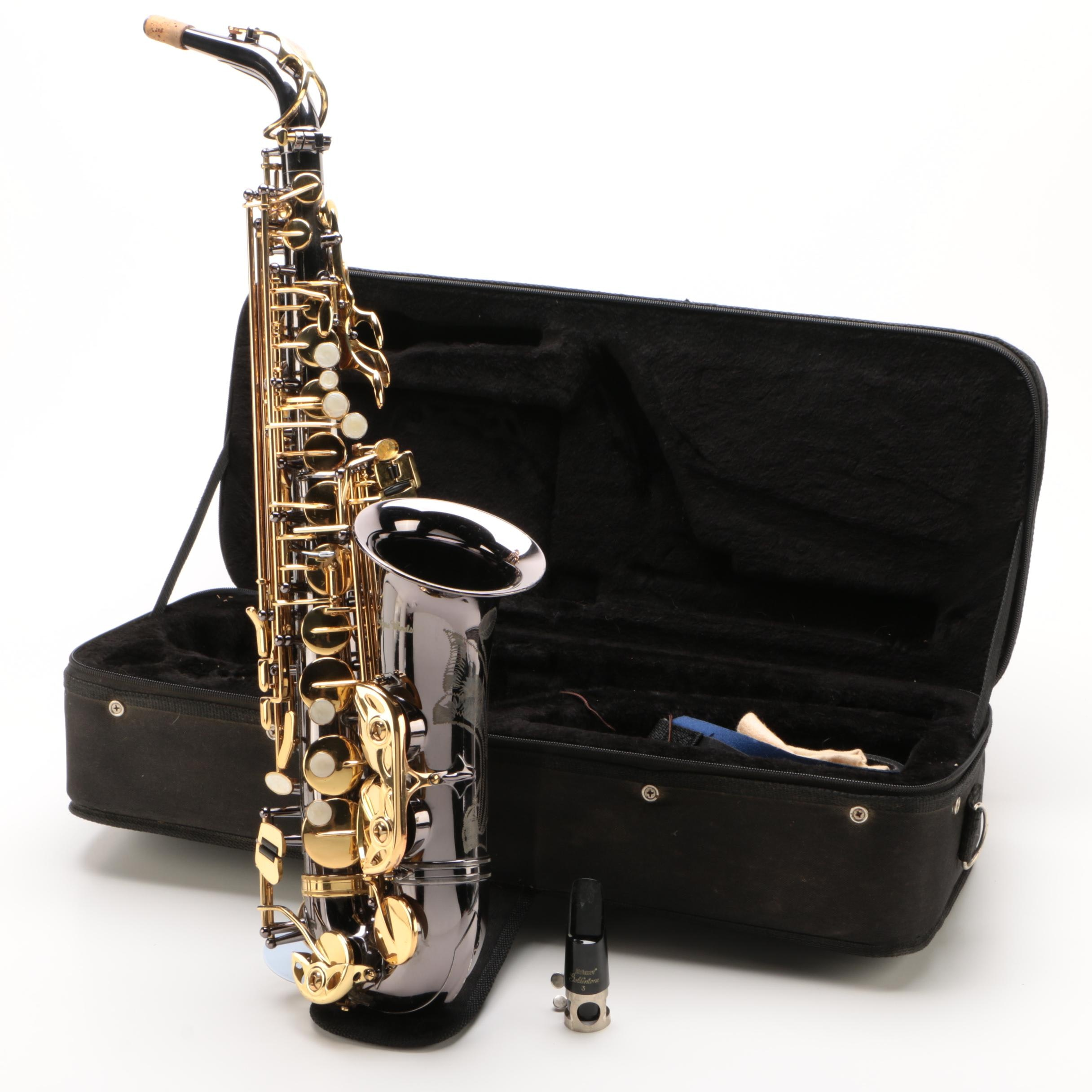 Antigua Winds Alto Saxophone with Case