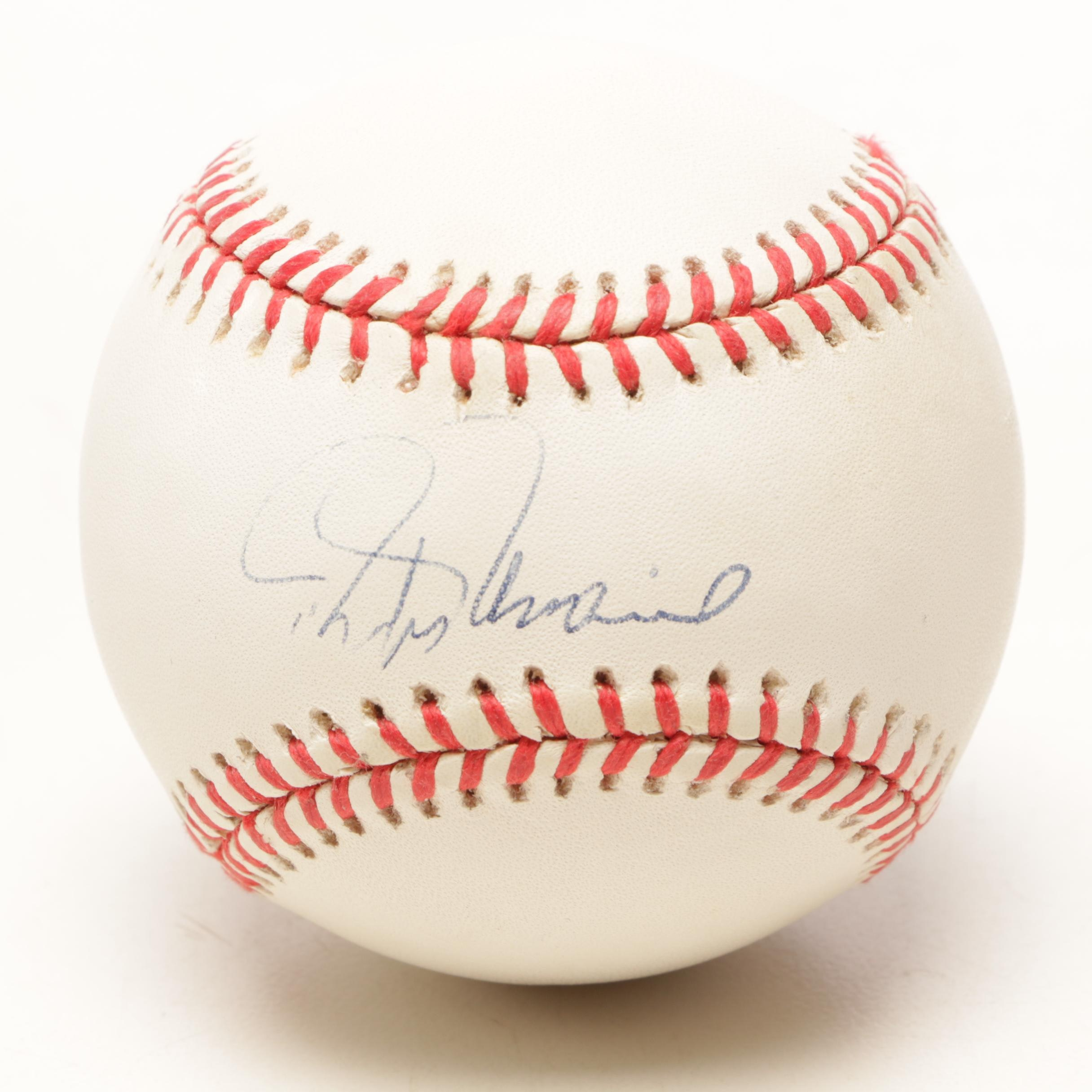 Rafael Palmero Signed Rawlings American League Baseball