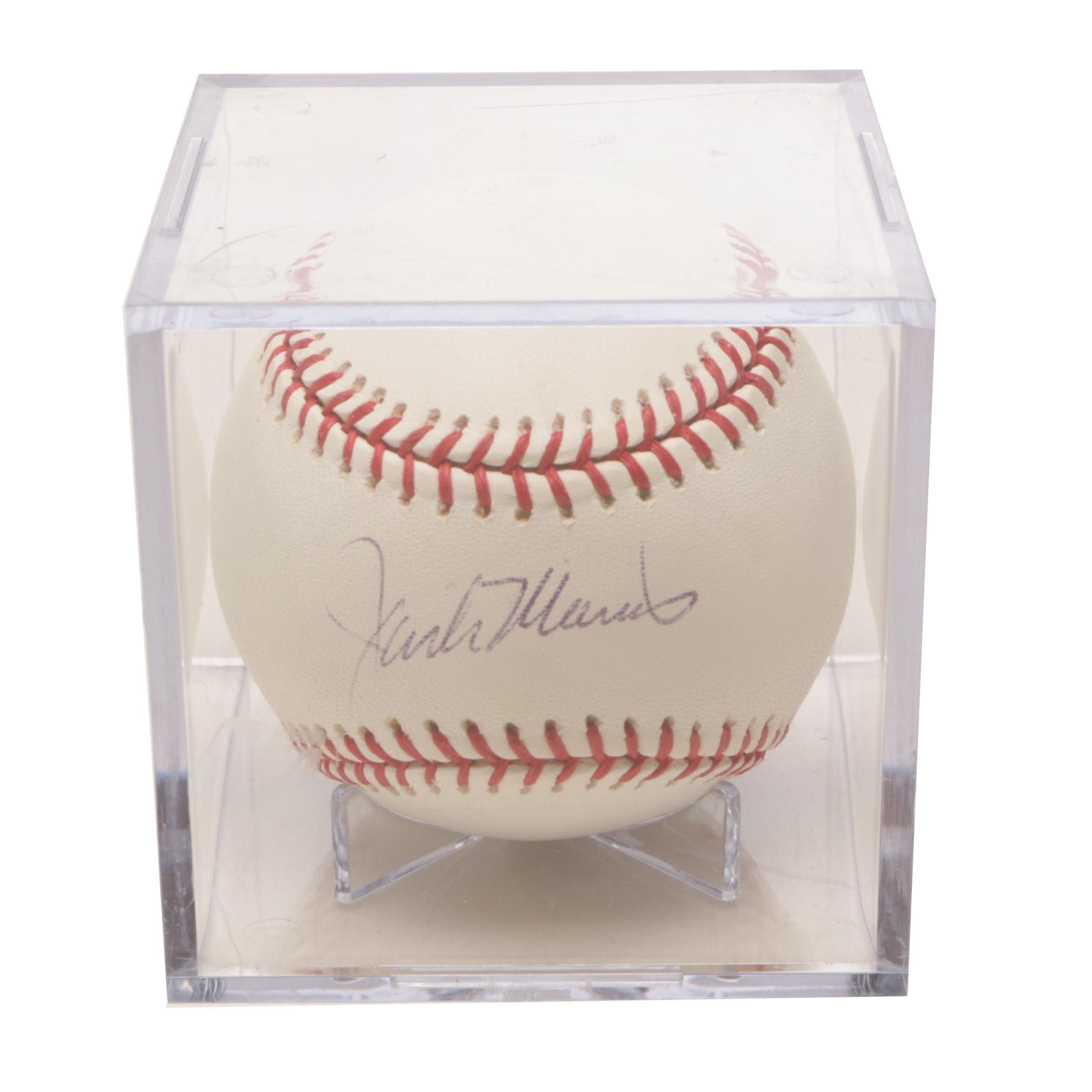 Jack Morris Signed Rawlings Major League Baseball
