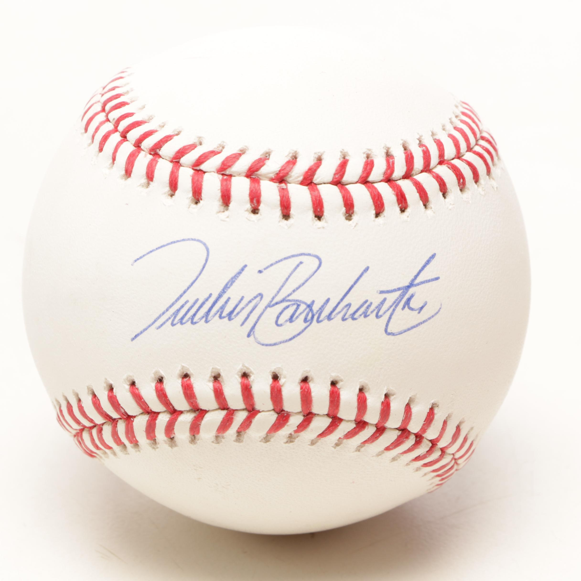 Tucker Barnhardt Signed Rawlings Major League Baseball