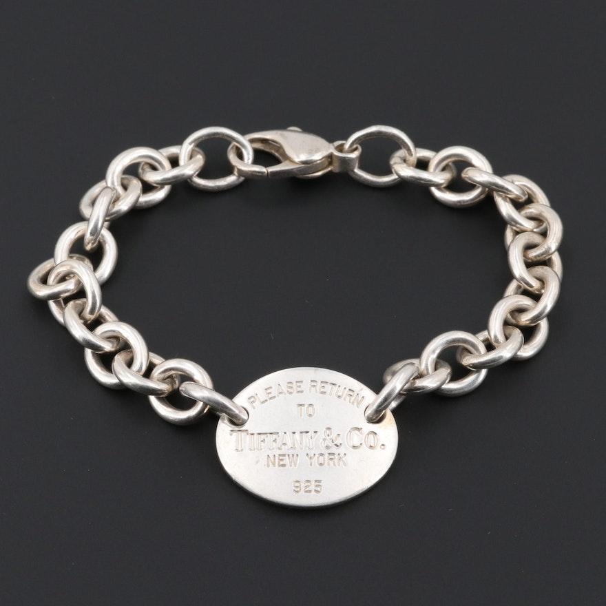94ce9f4f5 Tiffany & Co Sterling Silver Return to Tiffany Bracelet | EBTH
