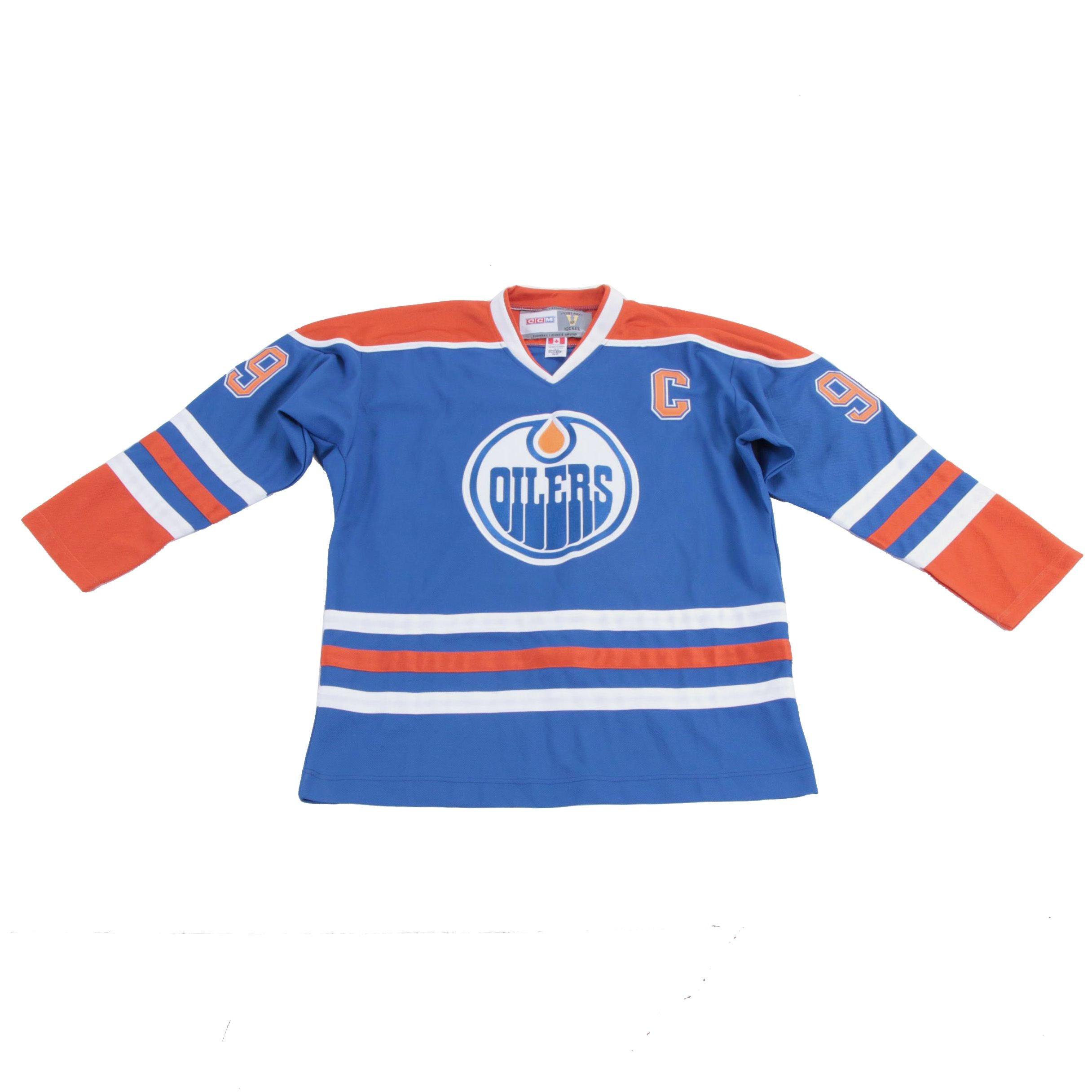 Wayne Gretzky Signed Oilers Jersey  COA