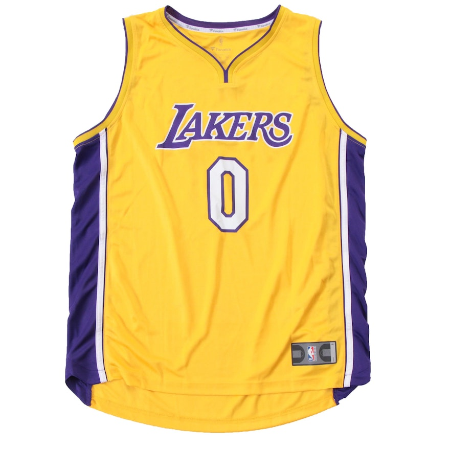 on sale 73448 d4f5c Kyle Kuzma Los Angels Lakers Replica NBA Basketball Jersey COA