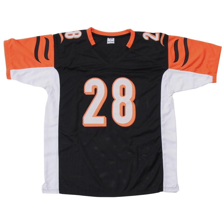 watch 73837 f465b Joe Mixon Signed Cincinnati Bengals NFL Football Jersey JSA COA