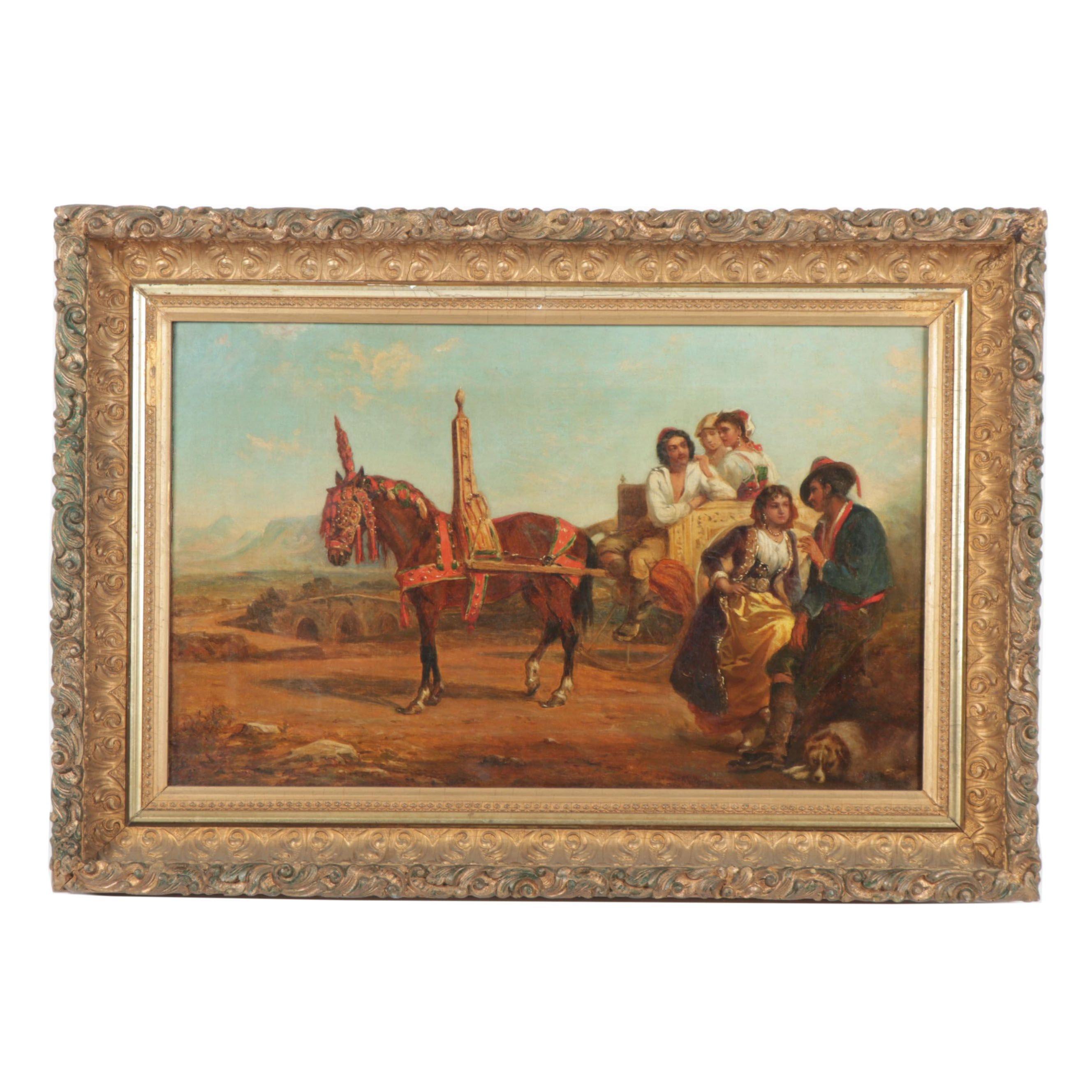 Thomas Kent Pelham  Oil Painting