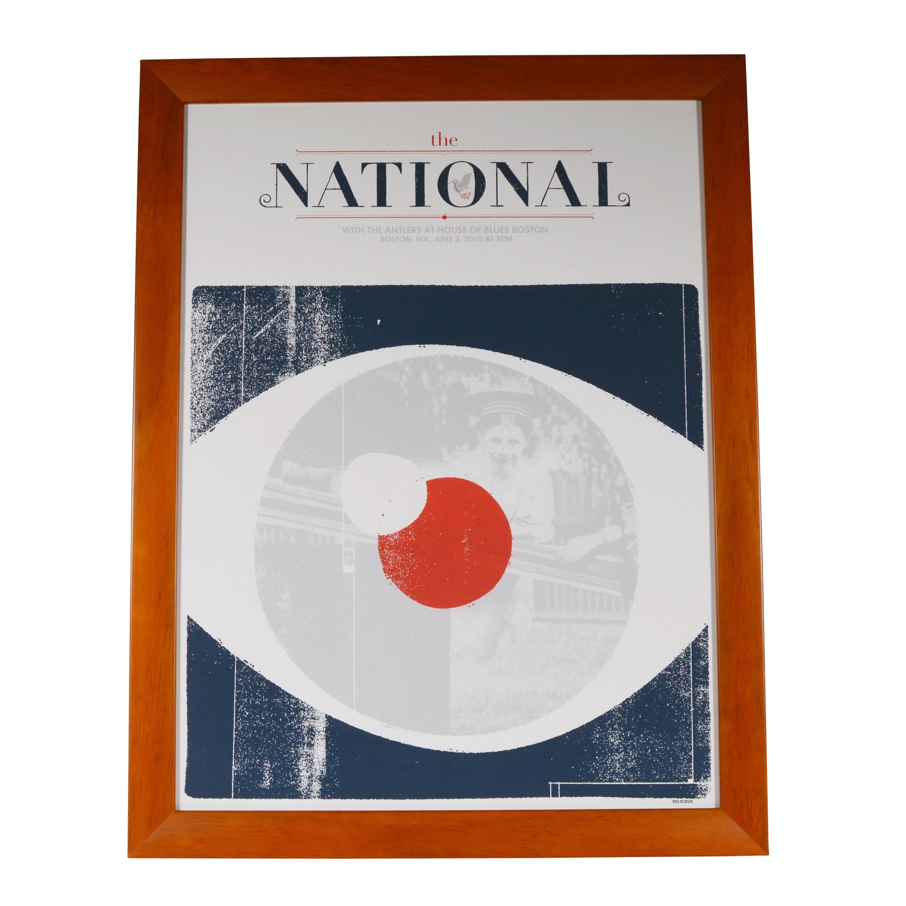 """The National"" Concert Poster Giclée"