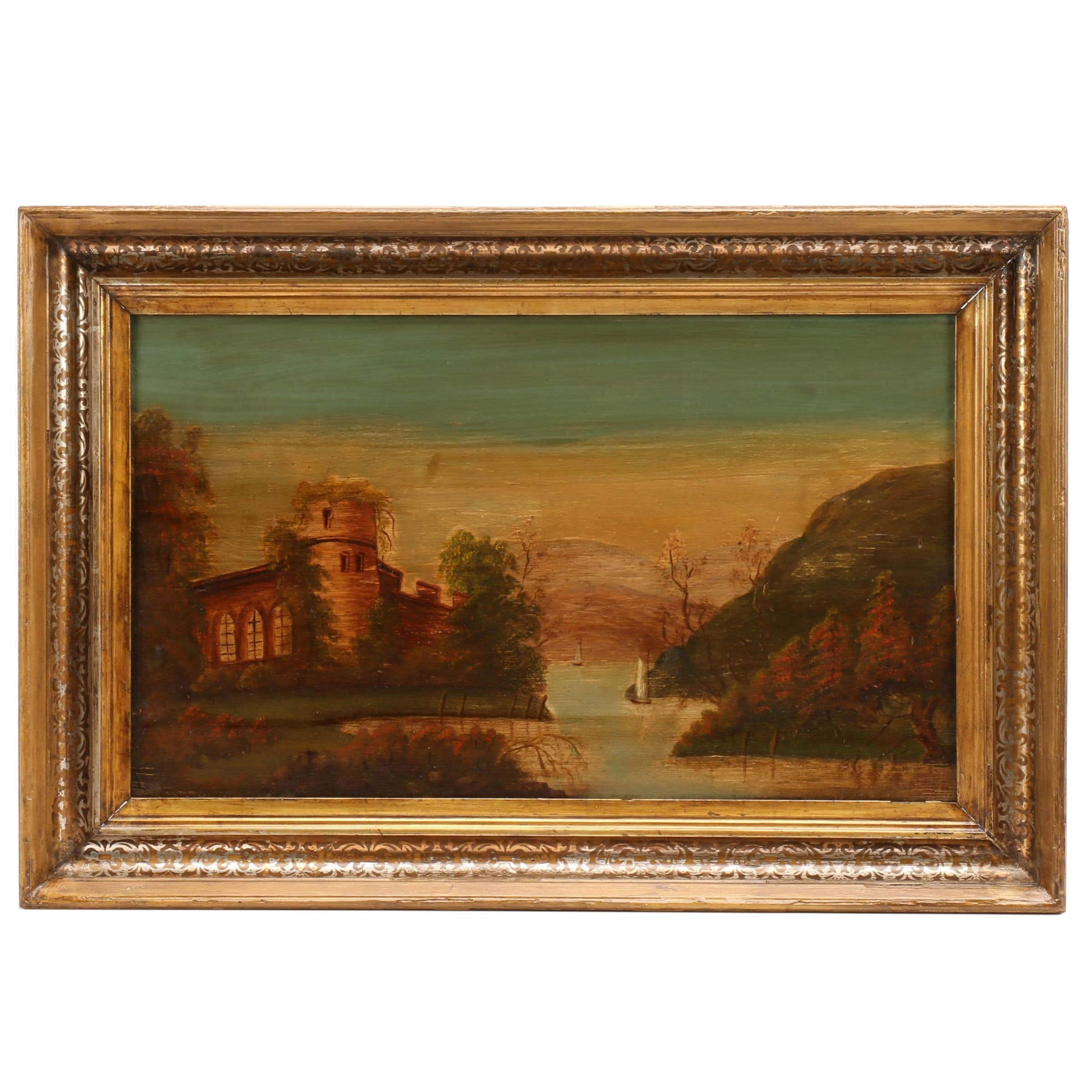 Early 20th Century European Landscape Oil Painting