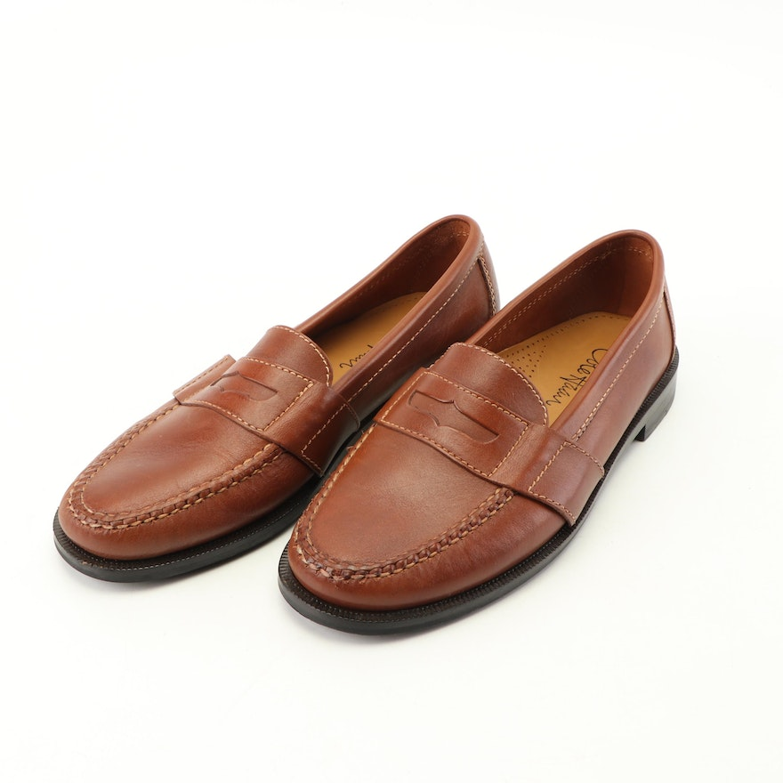 dd46b284264 Men s Cole Haan Douglas Brown Leather Loafers   EBTH