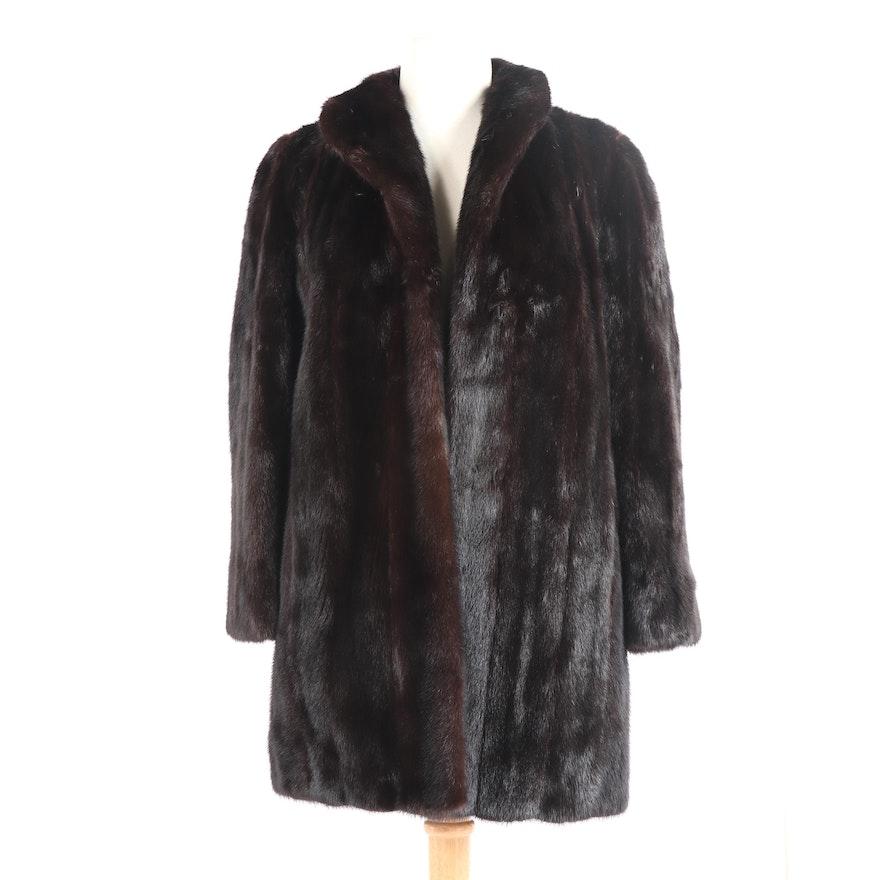 88efc7713 Women's Dark Mahogany Mink Fur Coat : EBTH