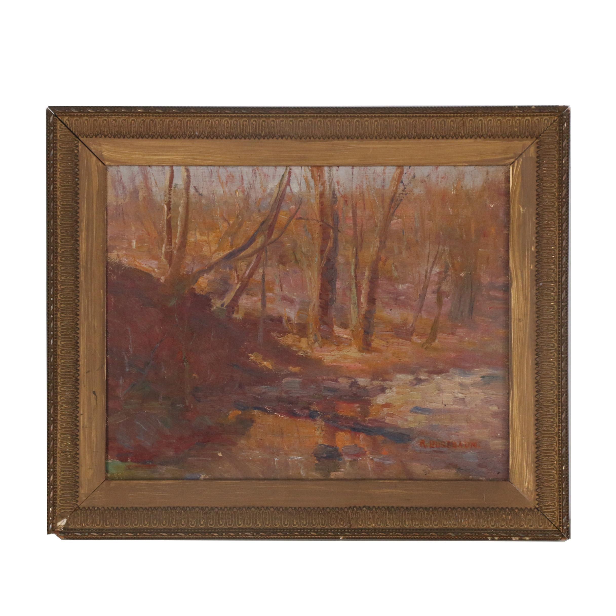 Richard Busebaum Landscape Oil Painting