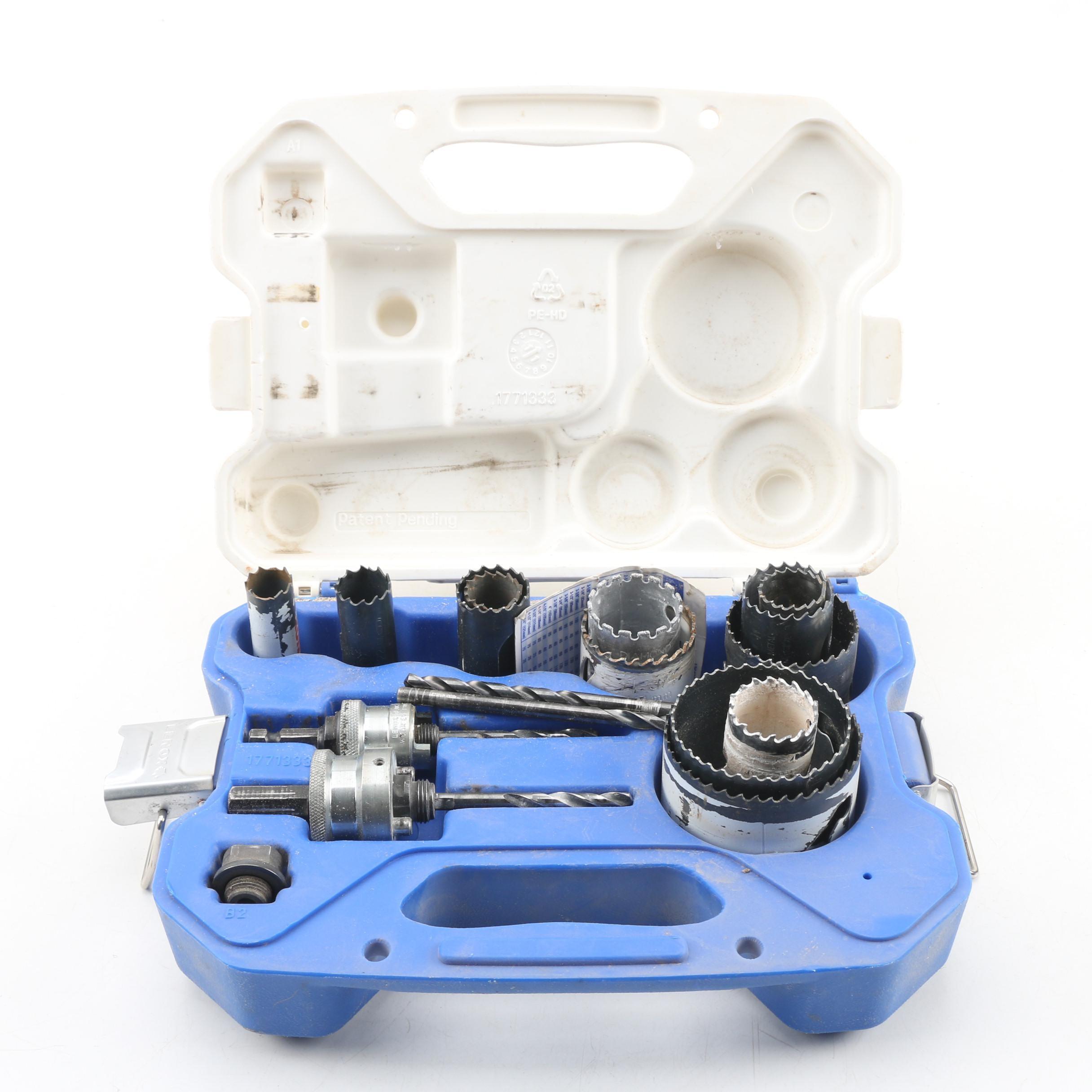 Lenox Nine-Piece Plumber's Hole Saw Kit