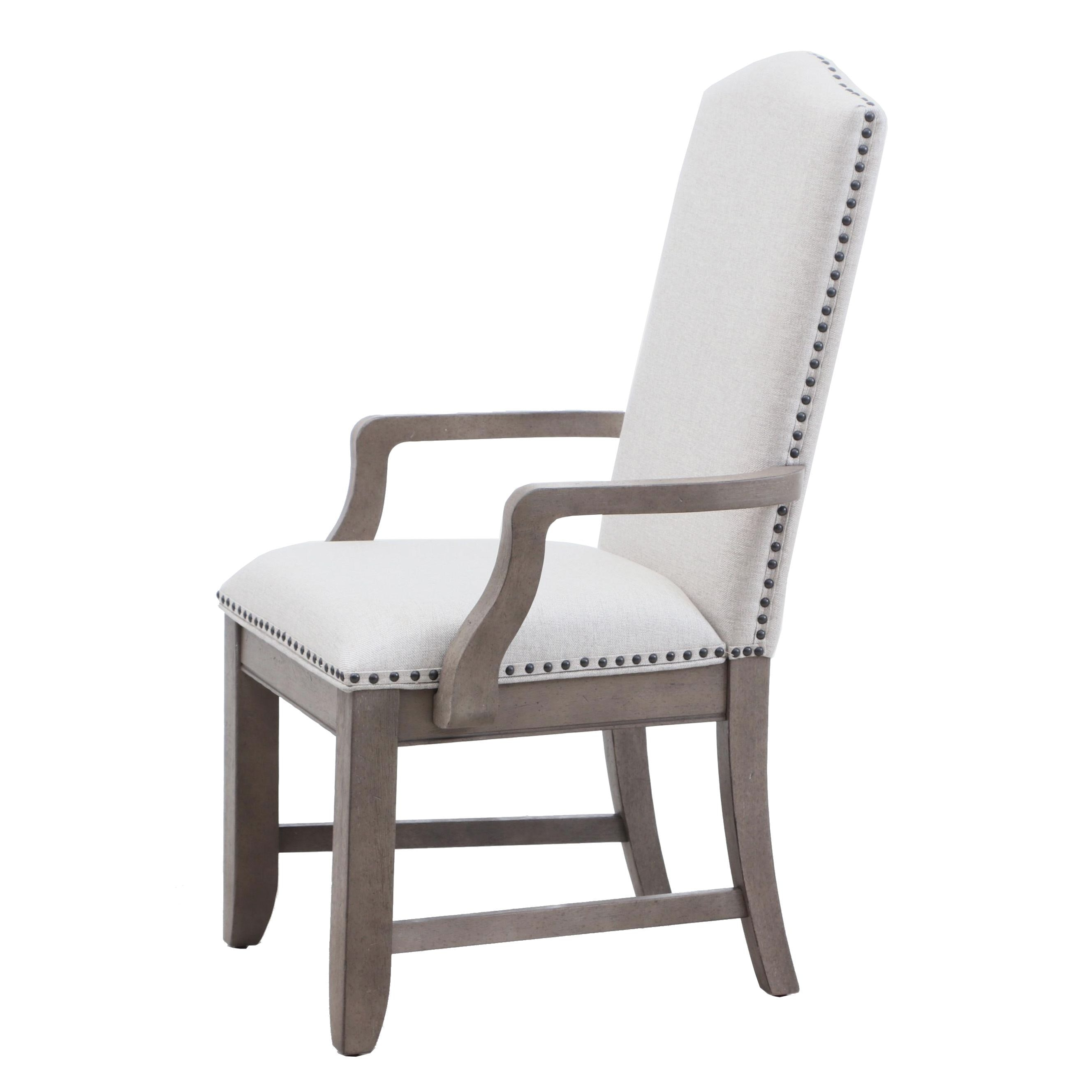 Contemporary Camel Back Arm Chair by Home Meridian