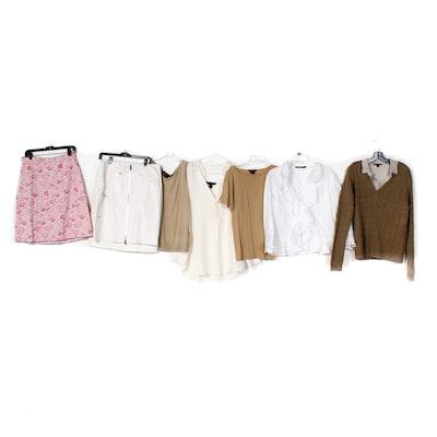 Assortment of St. John Skirt Sets and Jacket   EBTH ca7176989