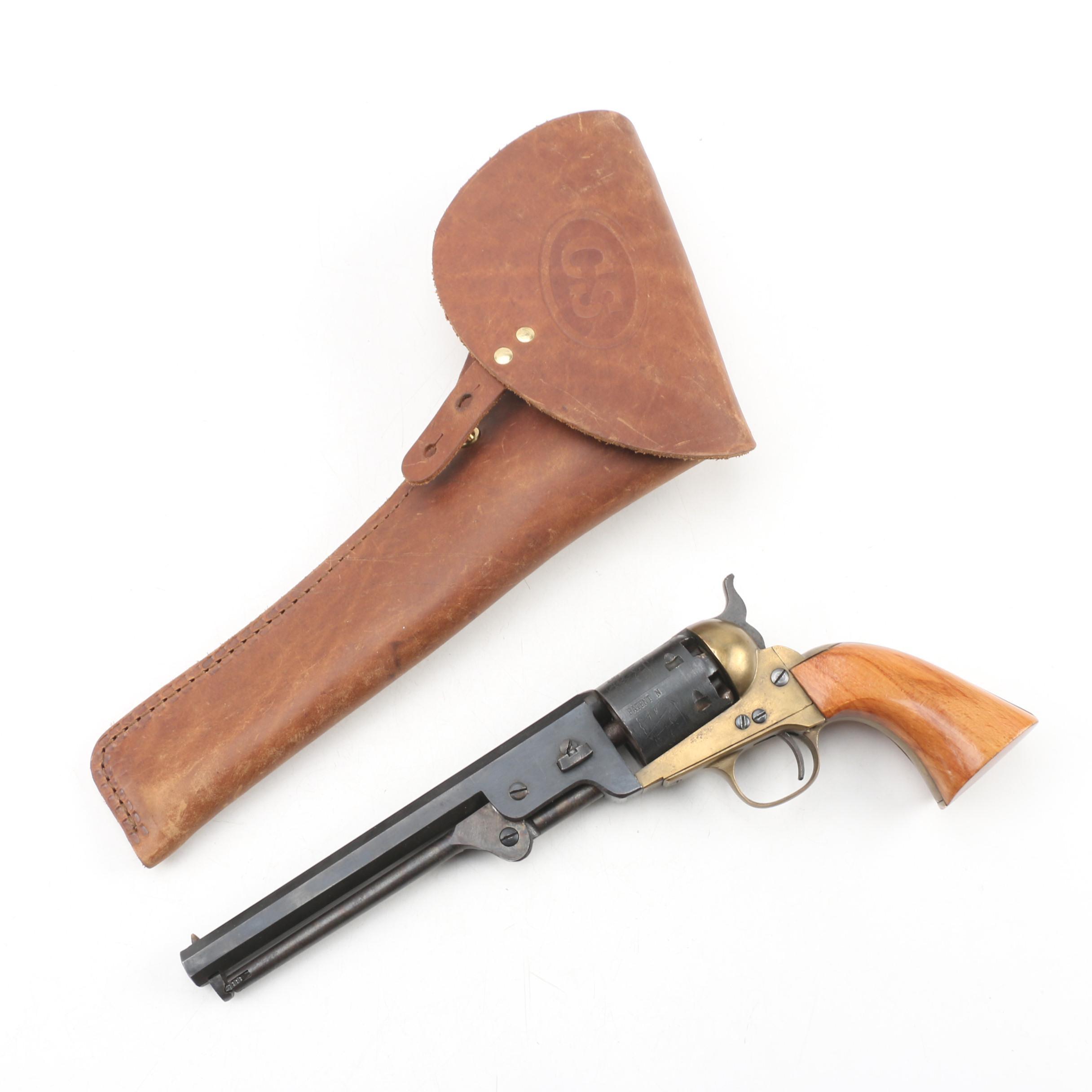 Replica Colt 1851 Navy .36 Caliber Black Powder Revolver with Holster, 1978