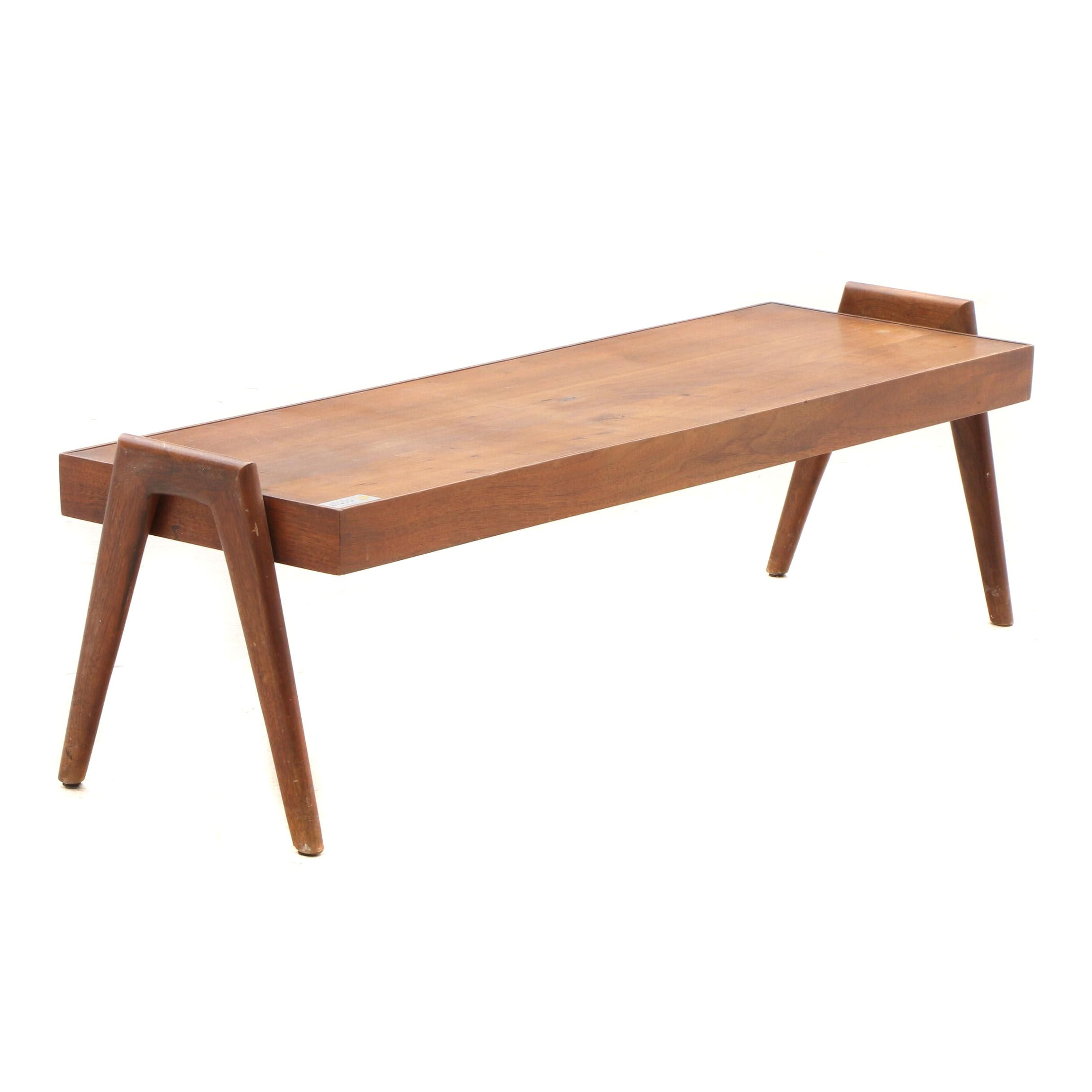 Mid Century Modern Walnut Coffee Table by Otmar