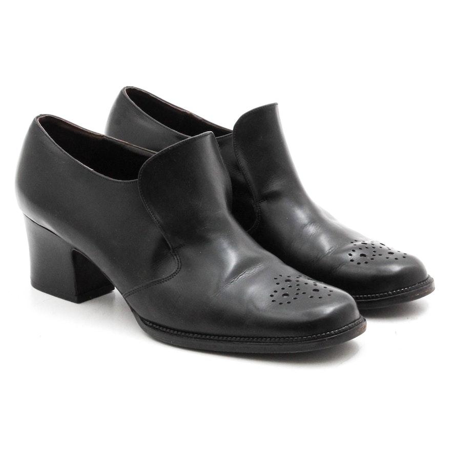 11f59cd58ee Women s Bally Switzerland Black Leather Shoes   EBTH