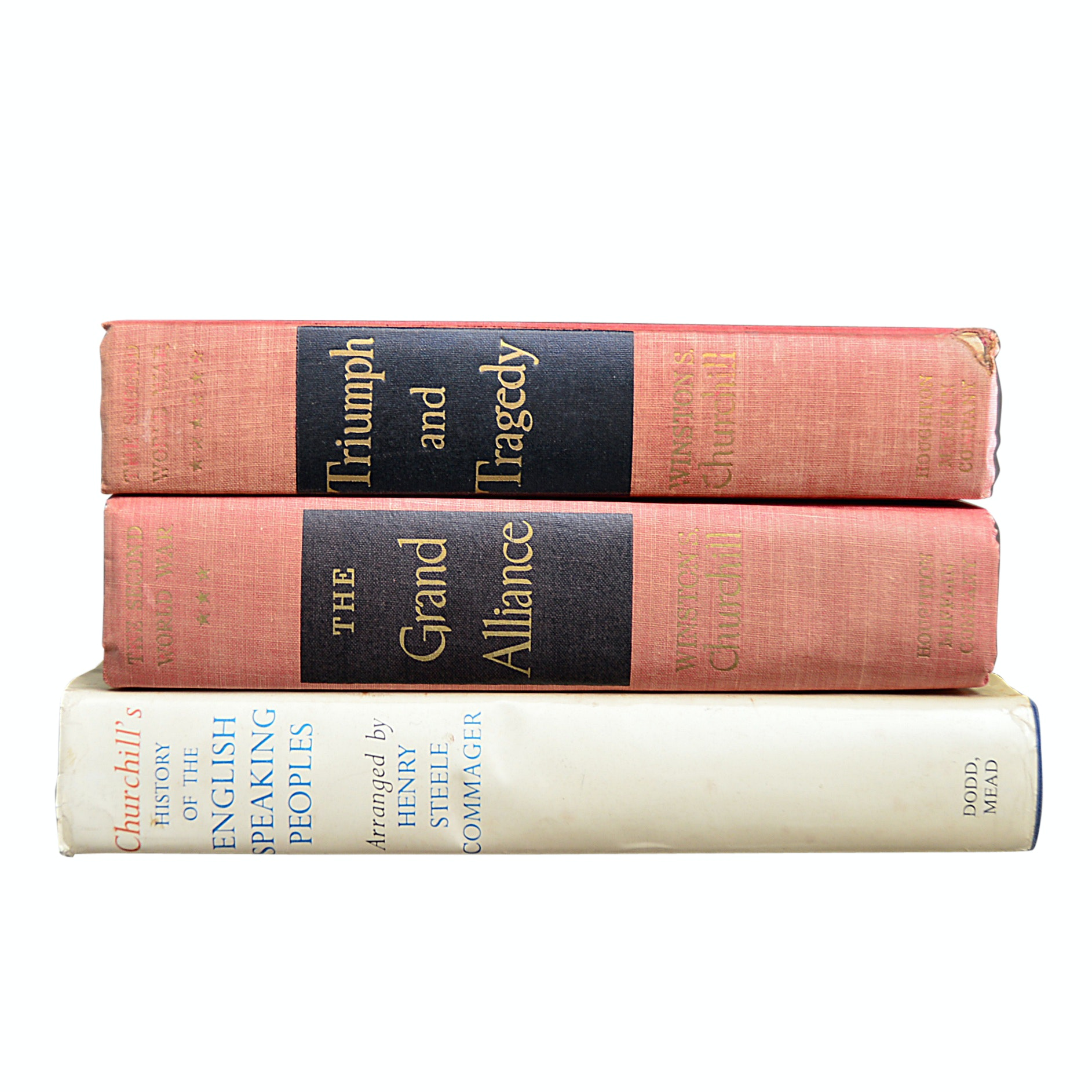 """""""History of the English-Speaking Peoples"""" and Other Winston Churchill Books"""